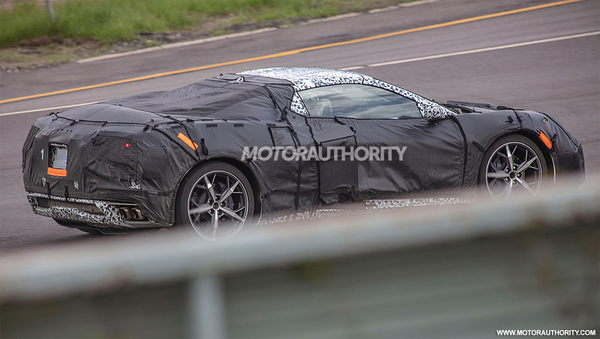 Chevy Corvette C8.R racer spotted, sounds like a twin ...