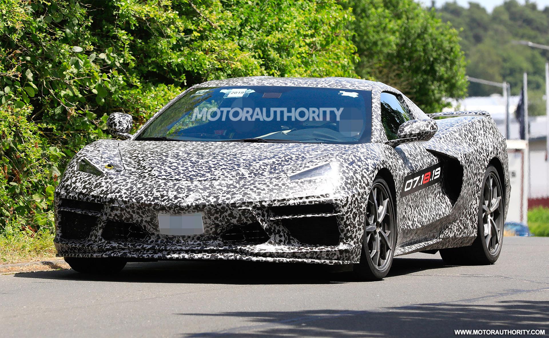 Watch the mid-engine 2020 Chevrolet Corvette Stingray ...