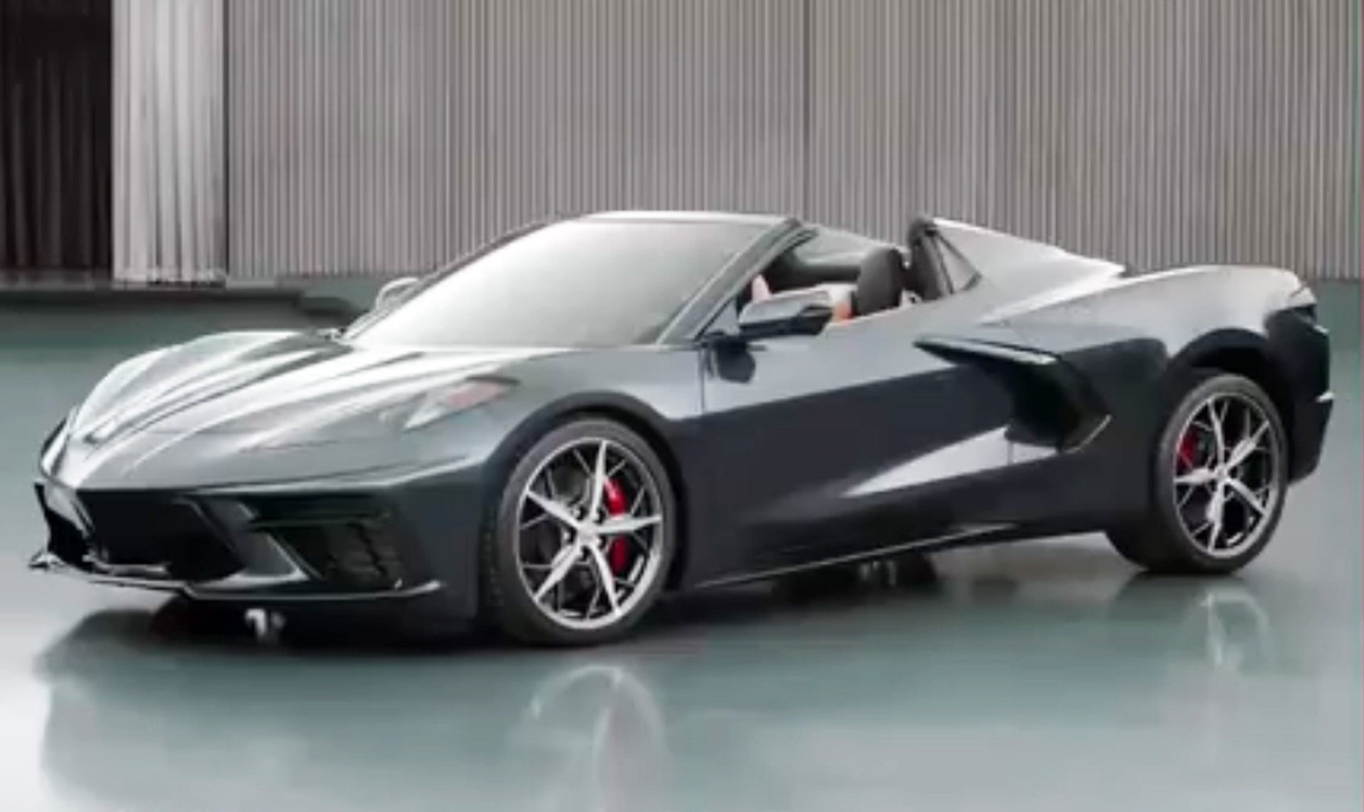 Top Already Dropped On 2020 Chevrolet Corvette Stingray Convertible