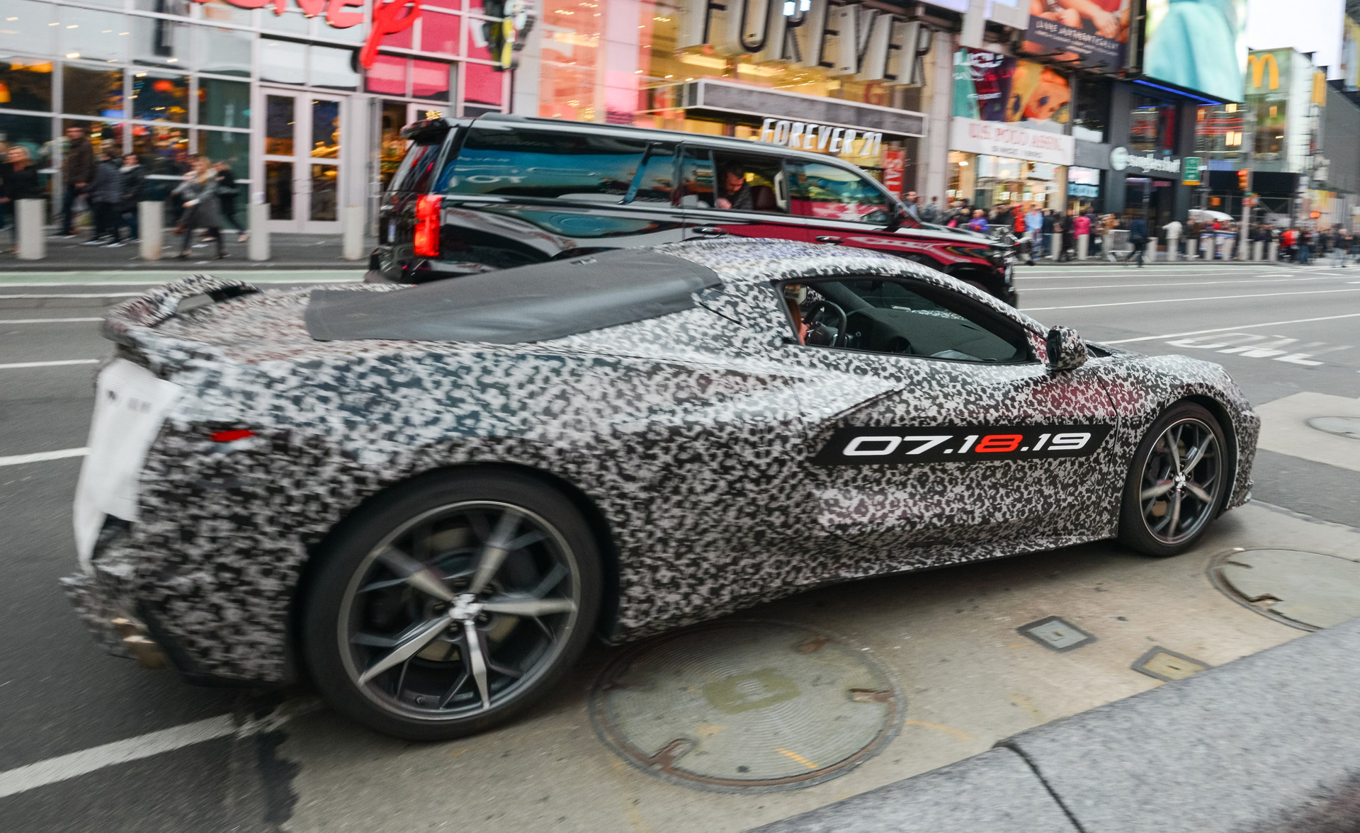 2020 Chevrolet C8 Corvette Prototype Honors Car S Godfather With