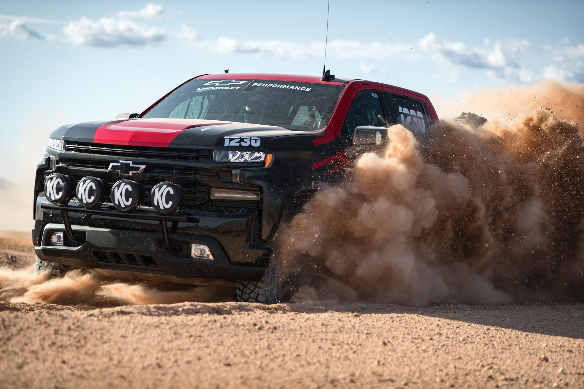 Chevrolet Silverado makes off-road racing debut