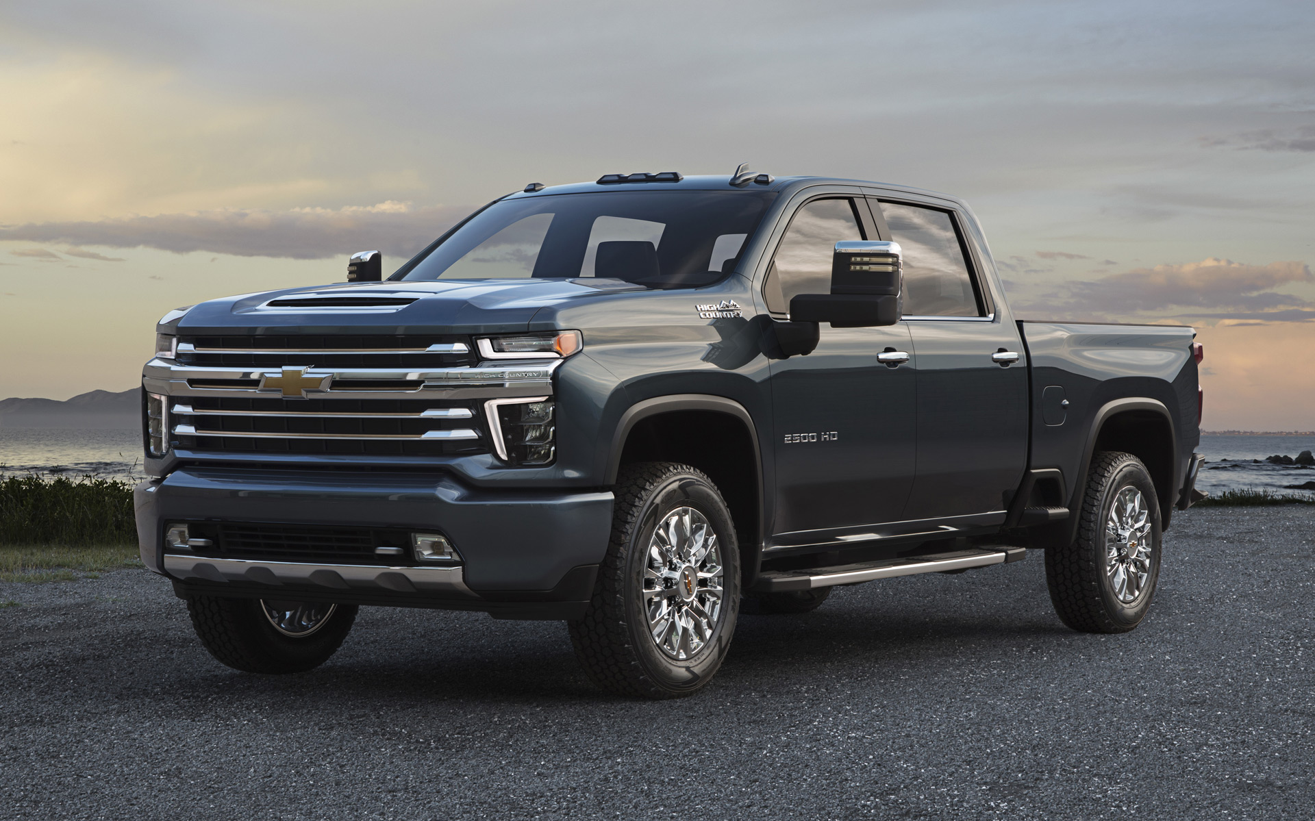 2020 Chevy Silverado 2500HD High Country: More bling, less ...