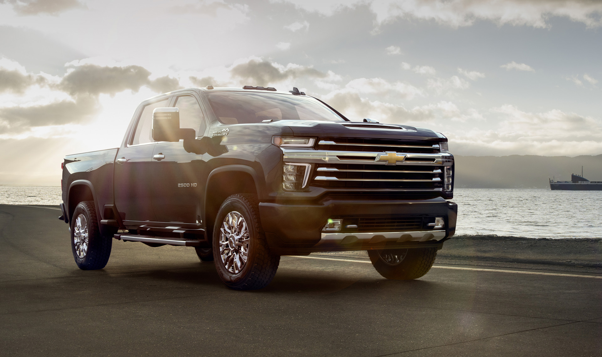 2020 Chevrolet Silverado HD High Country revealed: Luxury ...