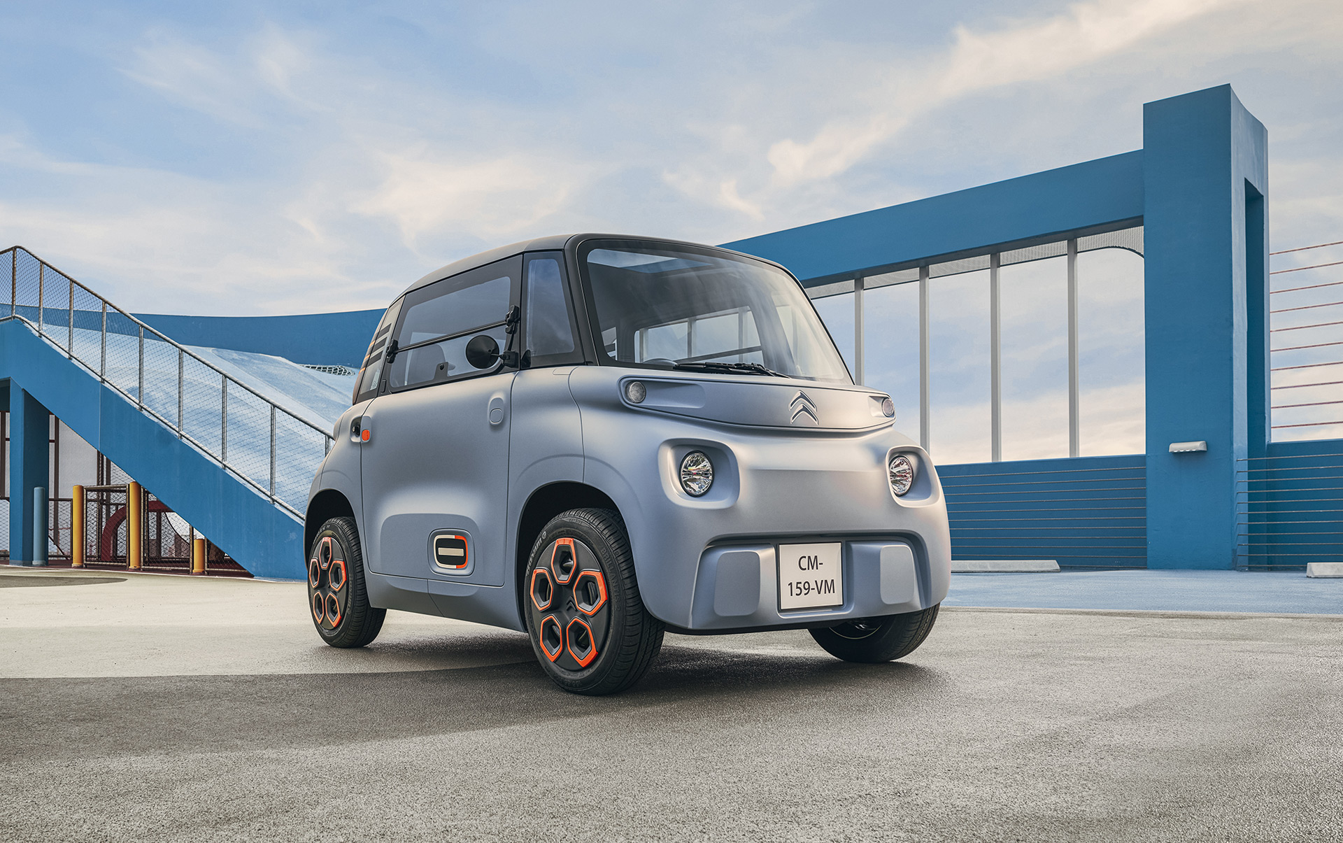 France's Citroën will rent its Ami two-seat electric car for less ...