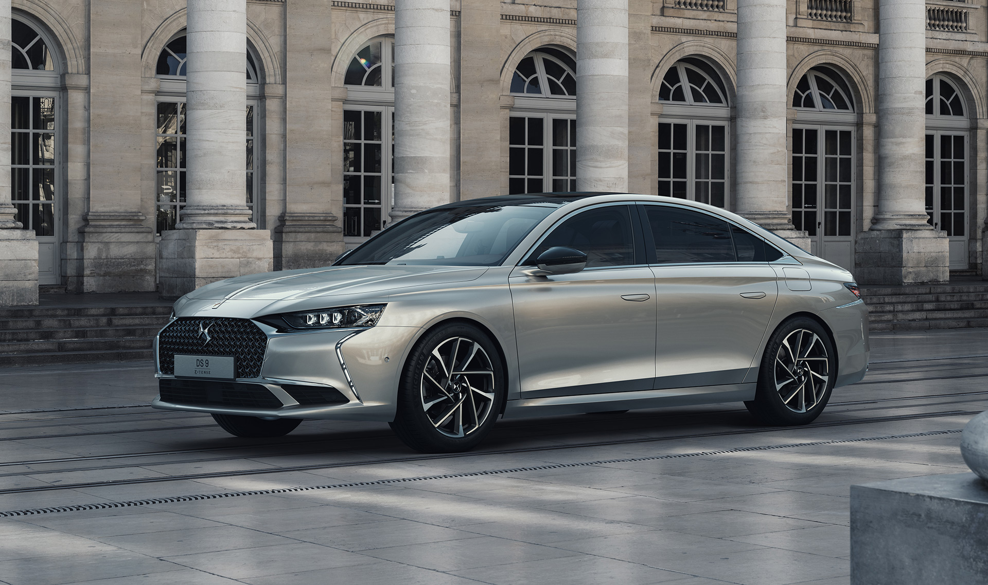 DS 9 is a French flagship sedan