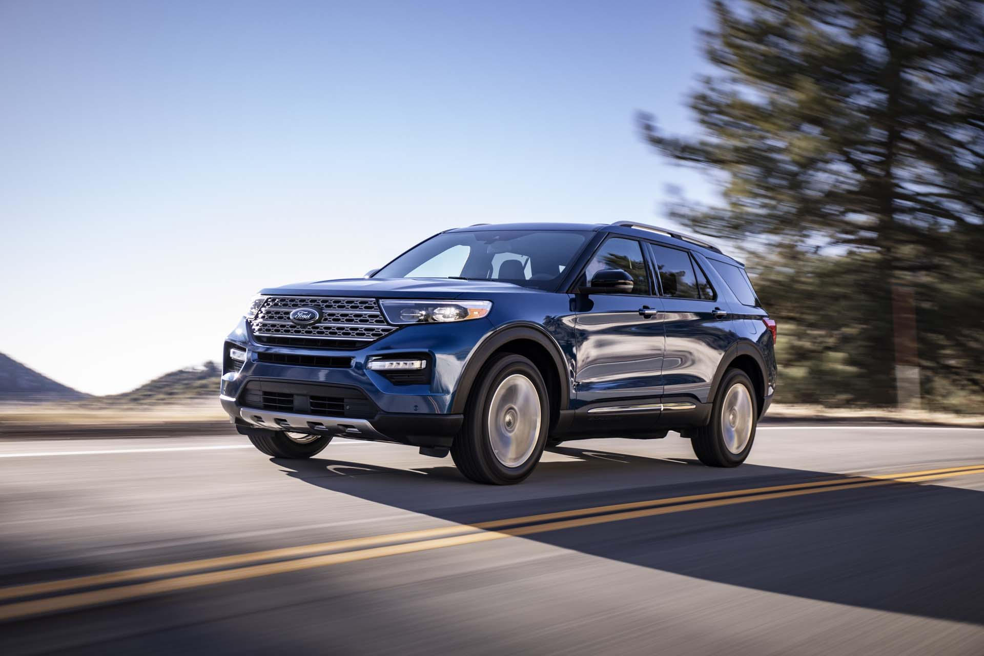 2020 Ford Explorer Debuts More Power More Safety For Evergreen