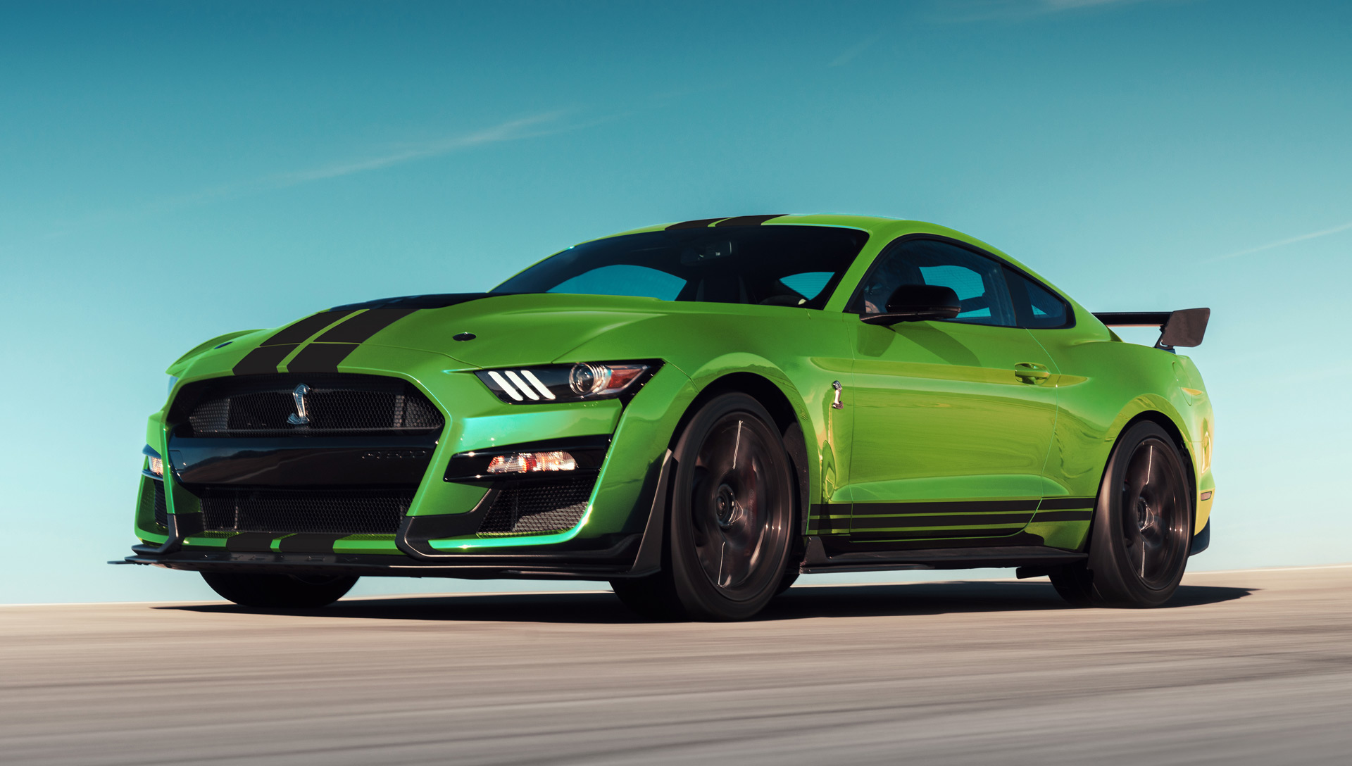 Ford reveals grabber lime paint for 2020 mustang just in time for st patricks day
