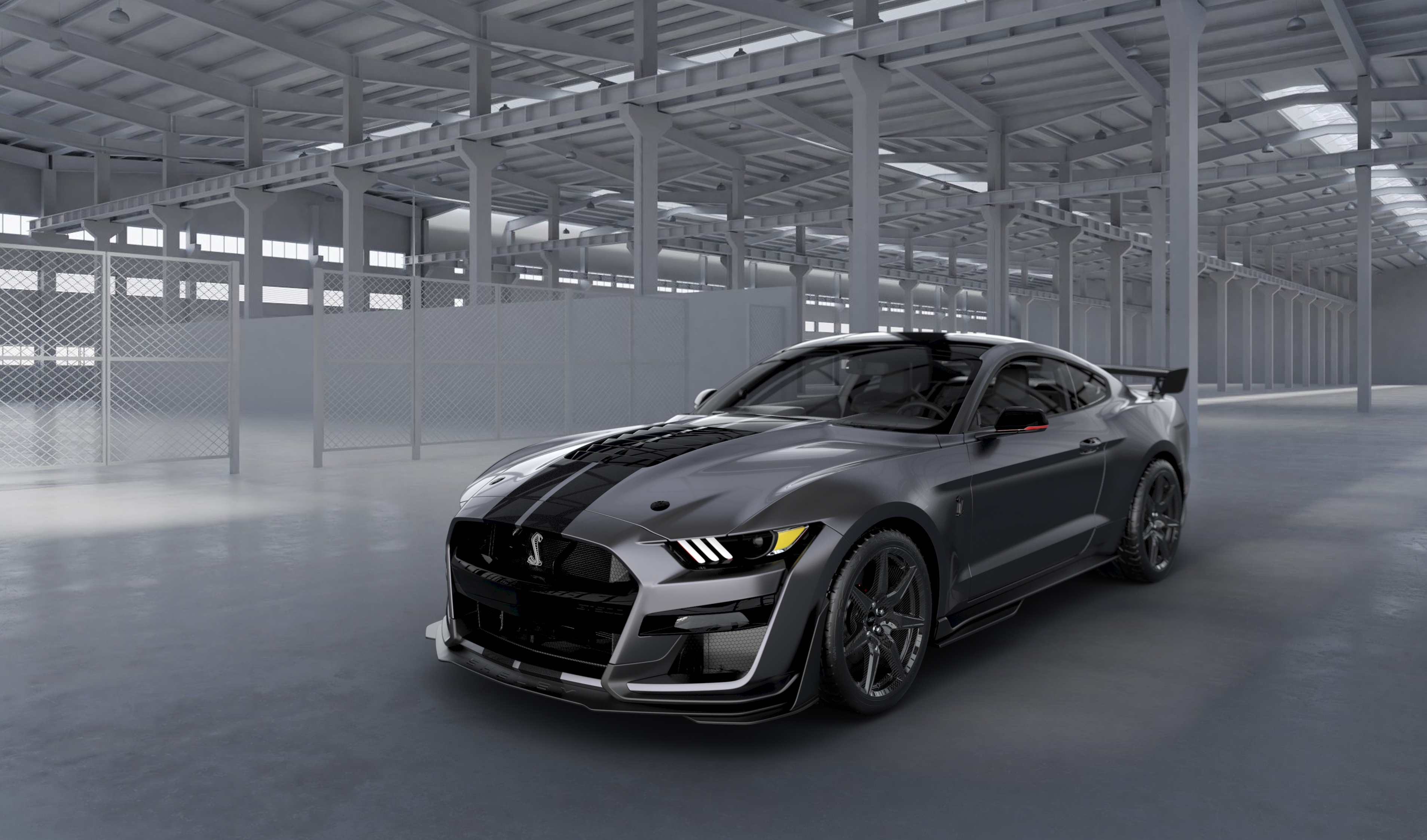 ford creates    mustang shelby gt venom  charity