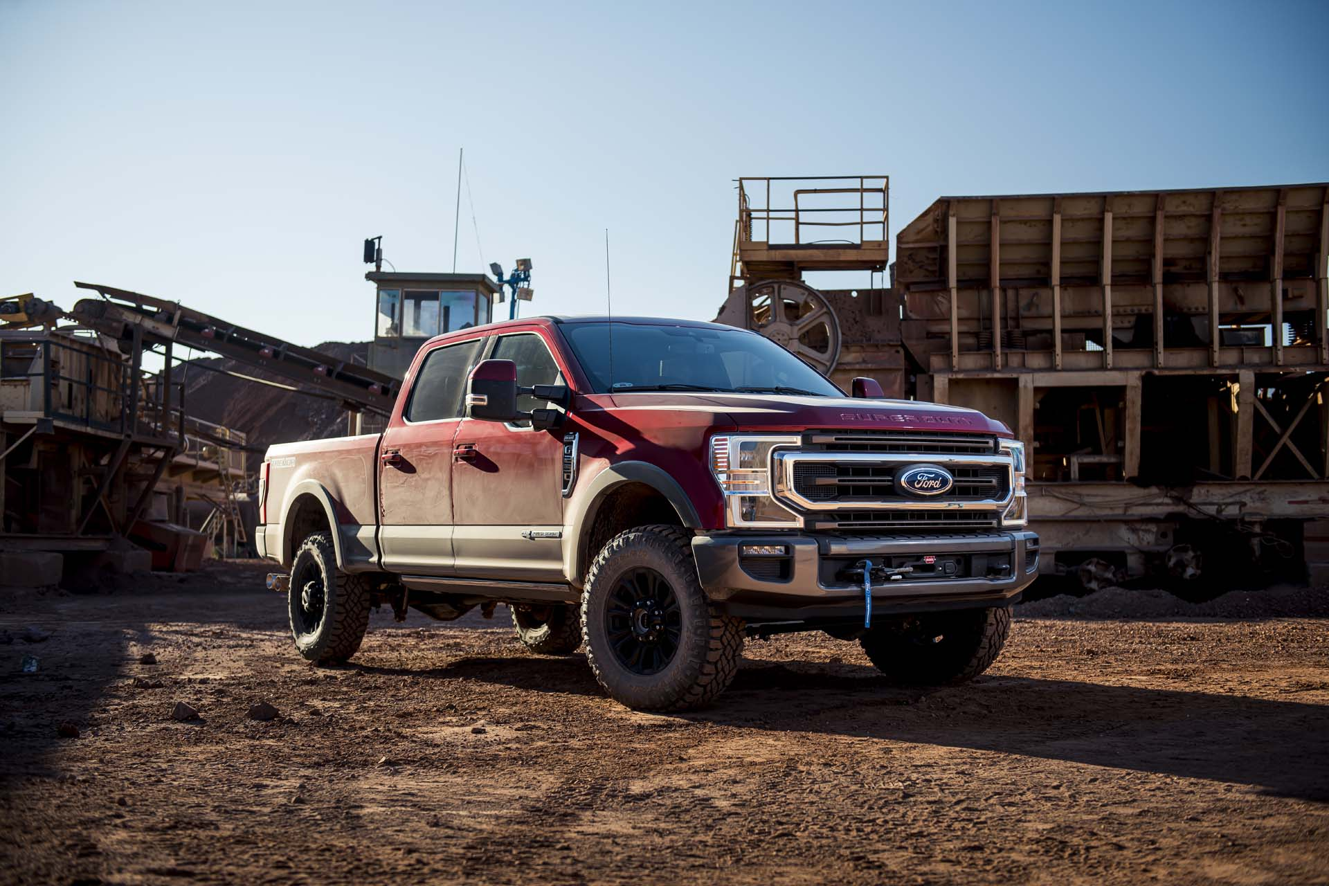 2020 Ford Super Duty Tremor To Offer Warn Winch For 3 000