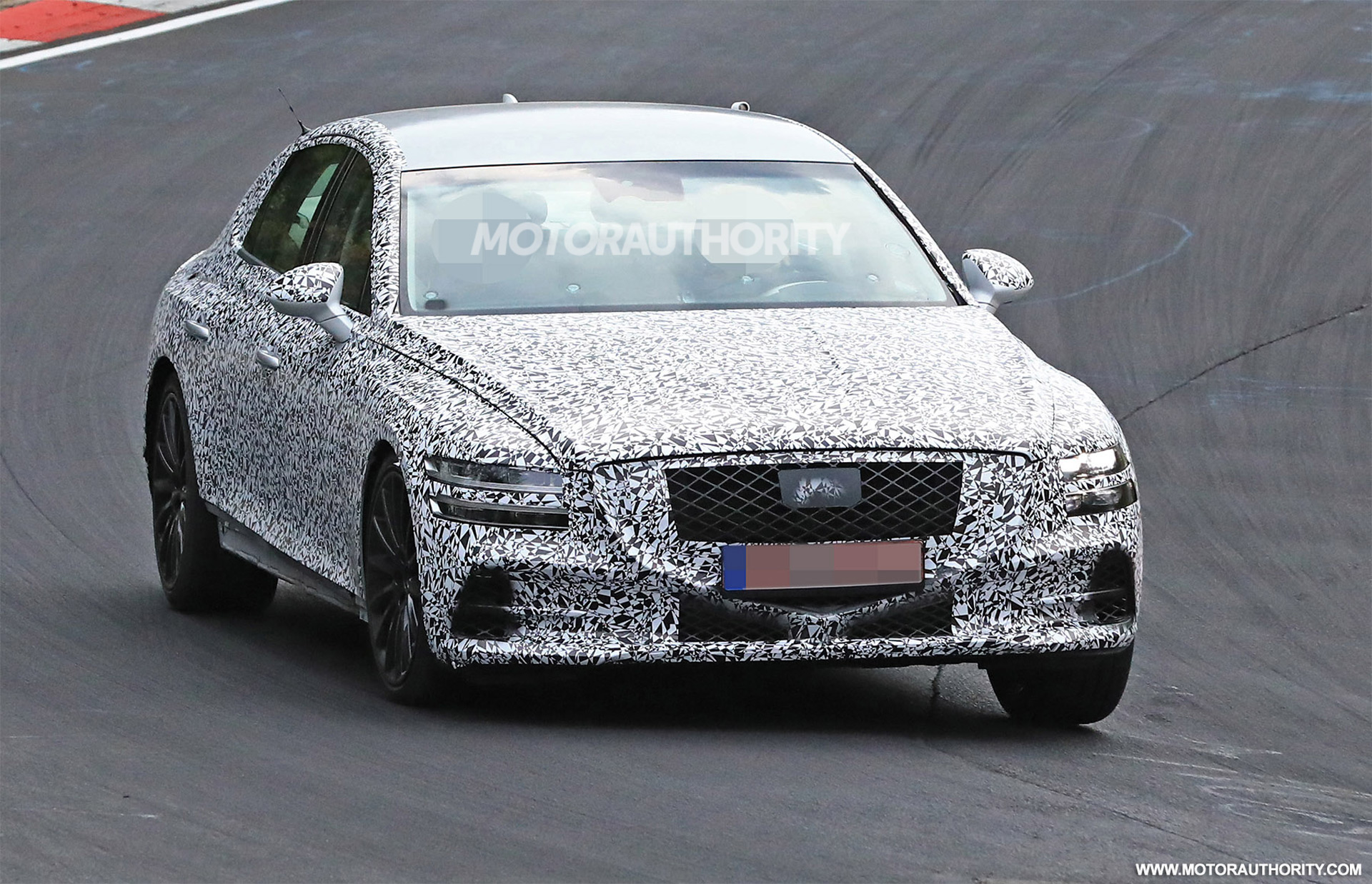 2020 Genesis G80 Spy Shots And Video