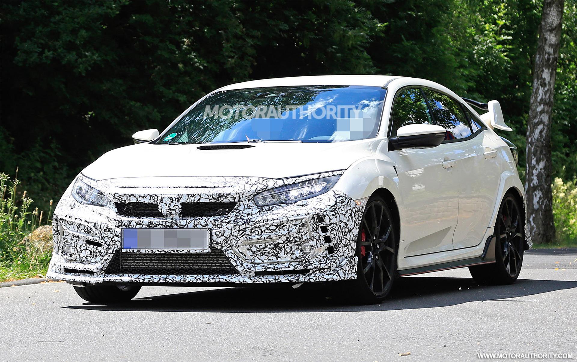 2019 Honda Civic Type R Spy Shots