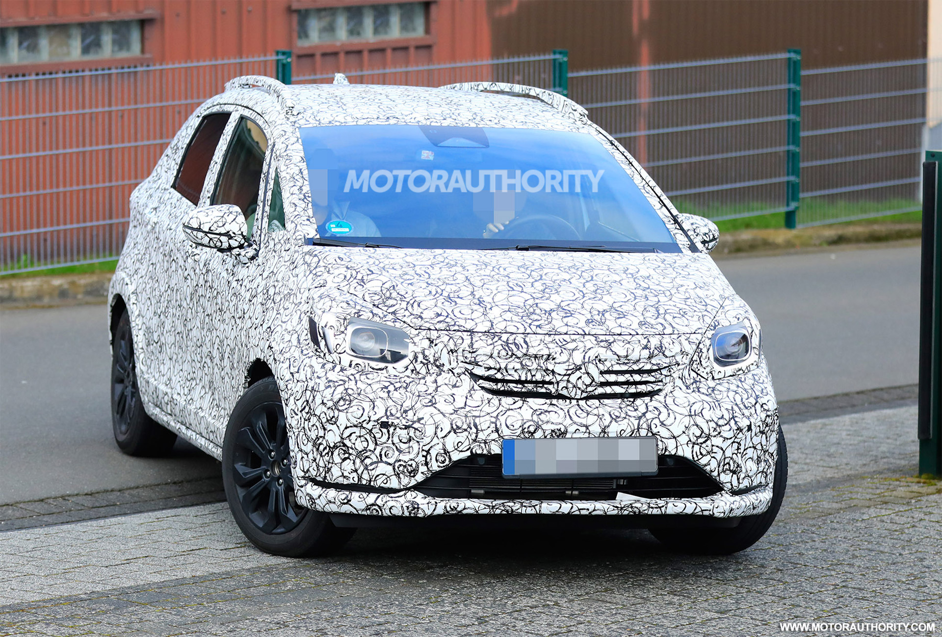 2020 Honda Fit spy shots and video