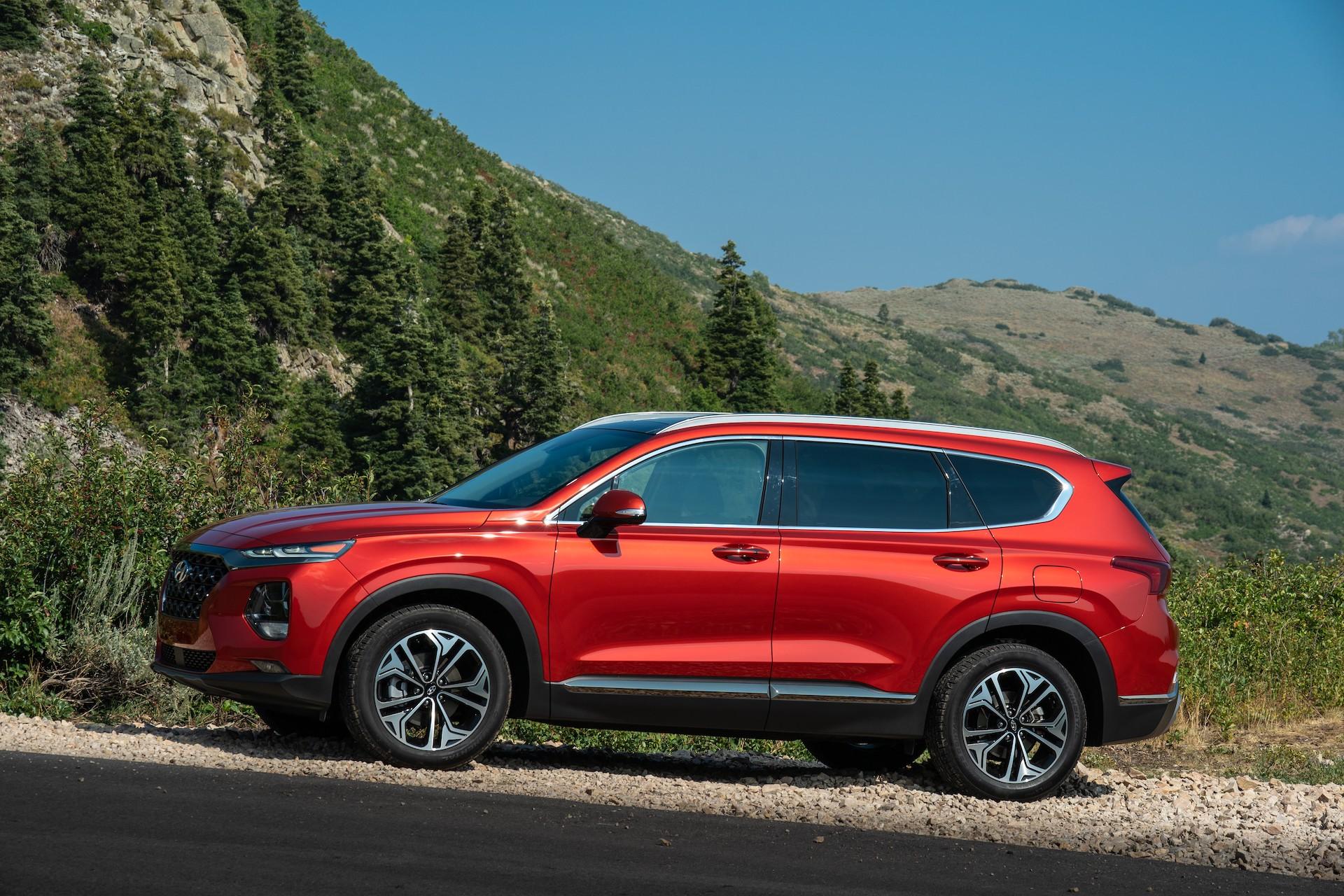 2020 Hyundai Santa Fe Vs 2020 Hyundai Tucson Compare Crossovers