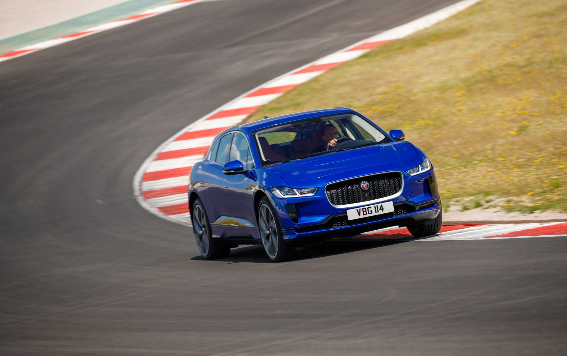 Jaguar: I-Pace electric SUV has already been improved from racing and over-the-air updates