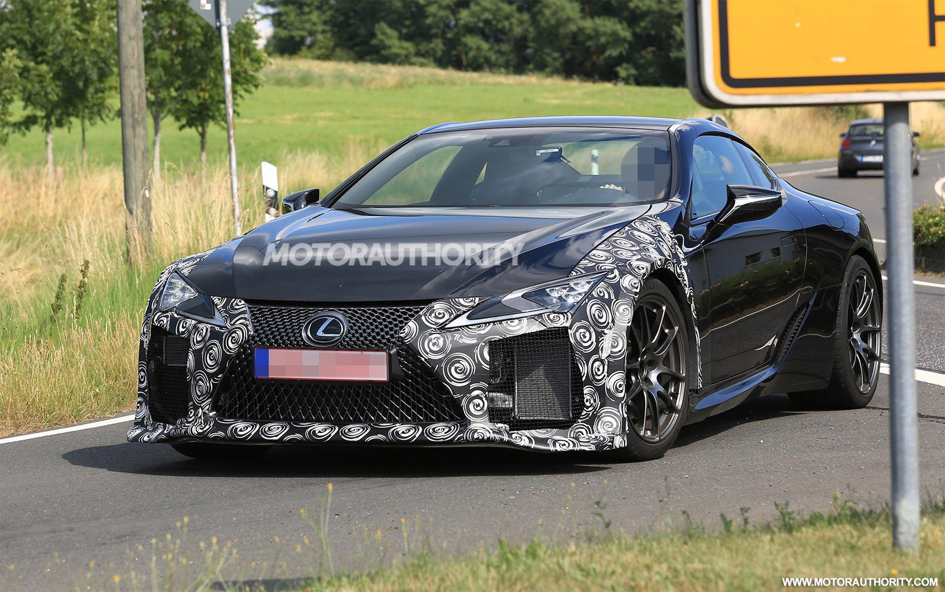 2021 Lexus Lc F Spy Shots