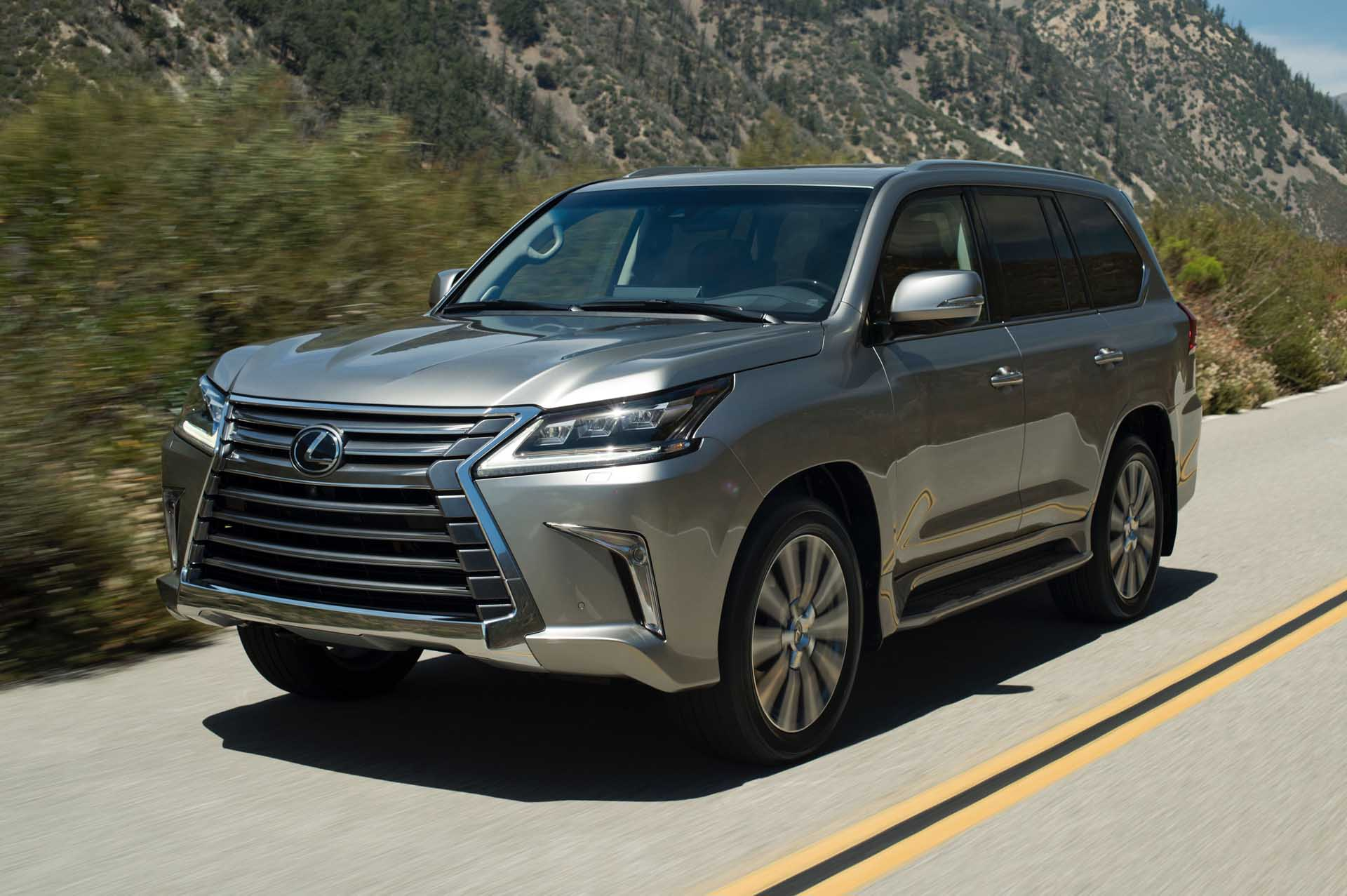 2020 Lexus Lx Review Ratings Specs Prices And Photos The Car Connection