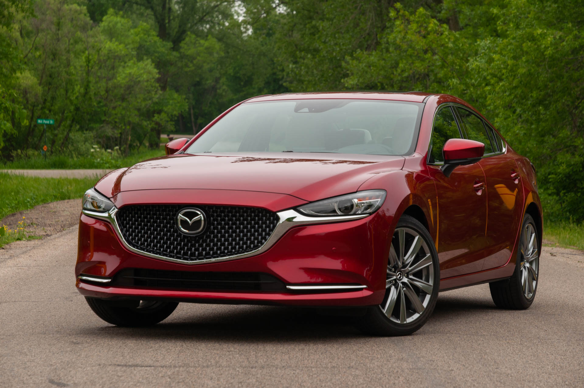 Review Update The 2020 Mazda 6 Signature Straddles The Divide Between Mainstream And Premium