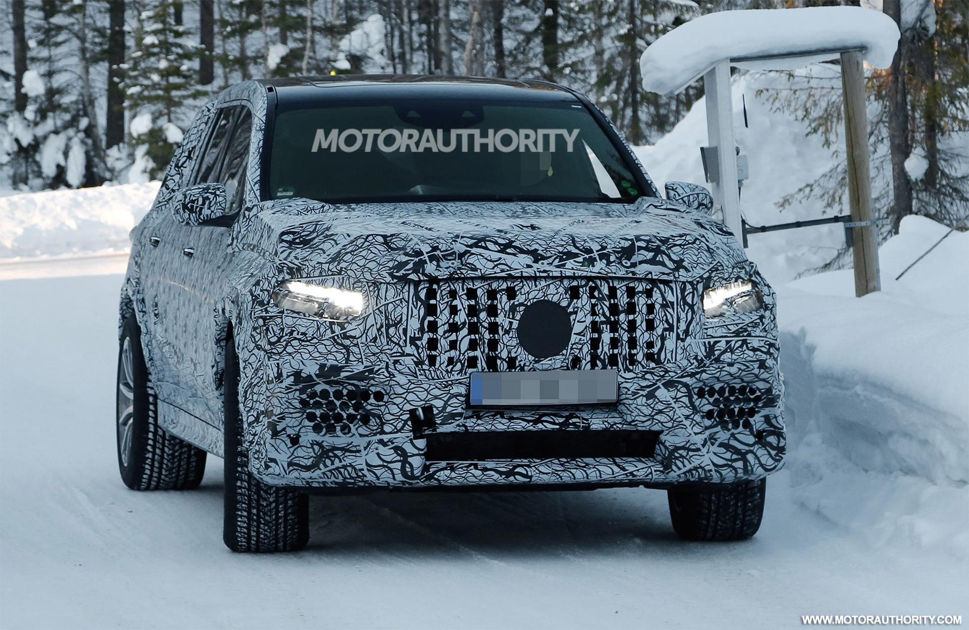 G63 2019 Release Date >> 2020 Mercedes-AMG GLS63 spy shots