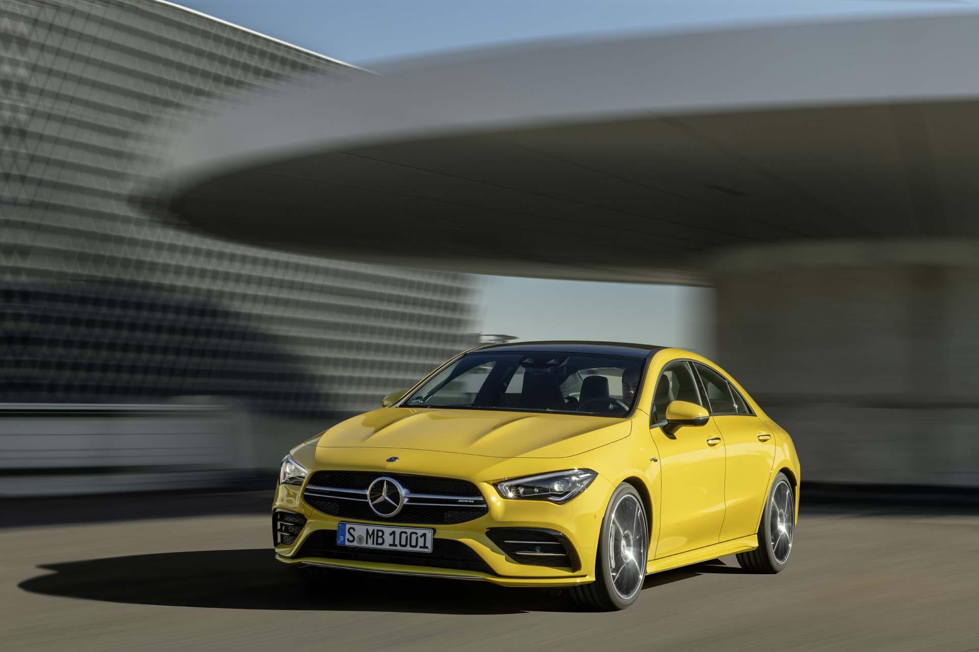 2020 Mercedes-Benz CLA35 AMG debuts: A stylish 302-hp firecracker