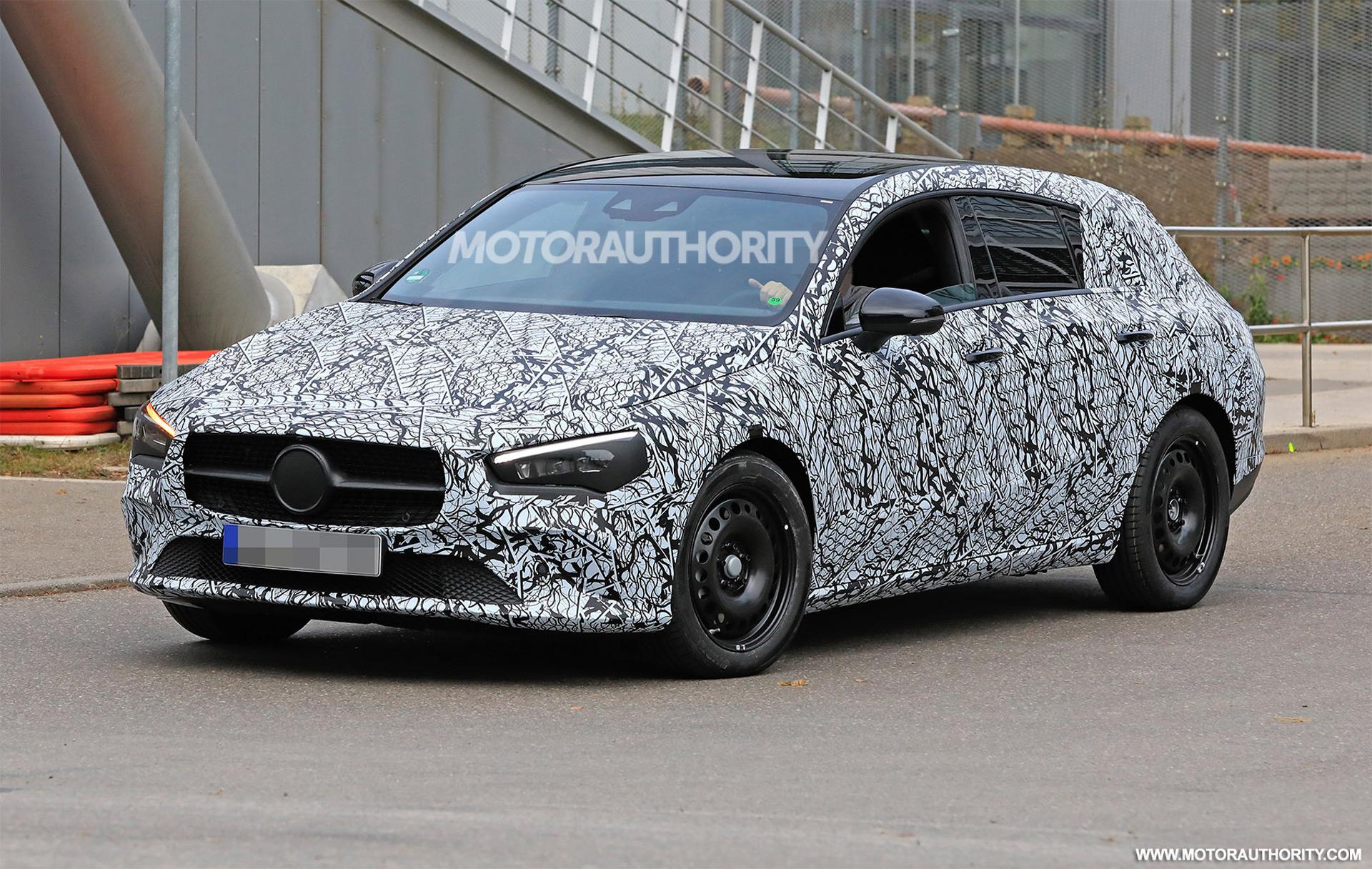 2020 Mercedes Benz Cla Shooting Brake Spy Shots