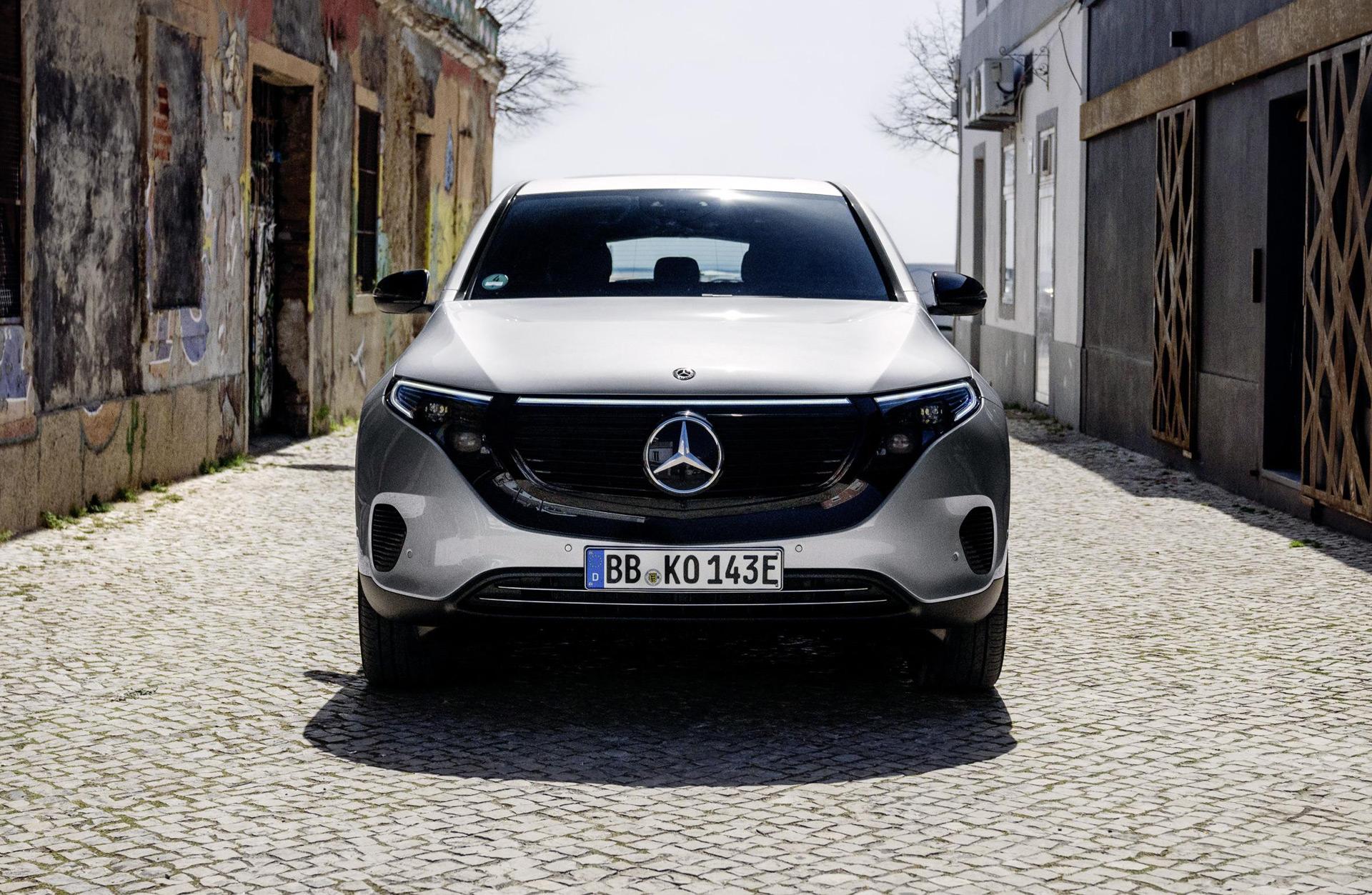 Report: Mercedes-Benz EQE shapes up as Tesla Model S rival ...