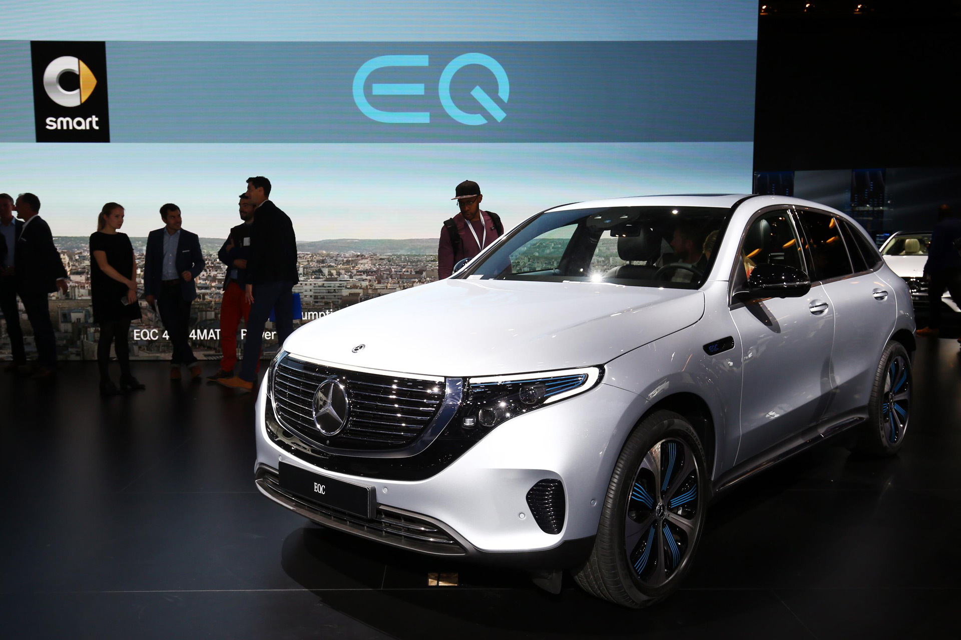 MercedesBenz EQC Makes Public Debut At Paris Auto Show - Mercedes benz car show
