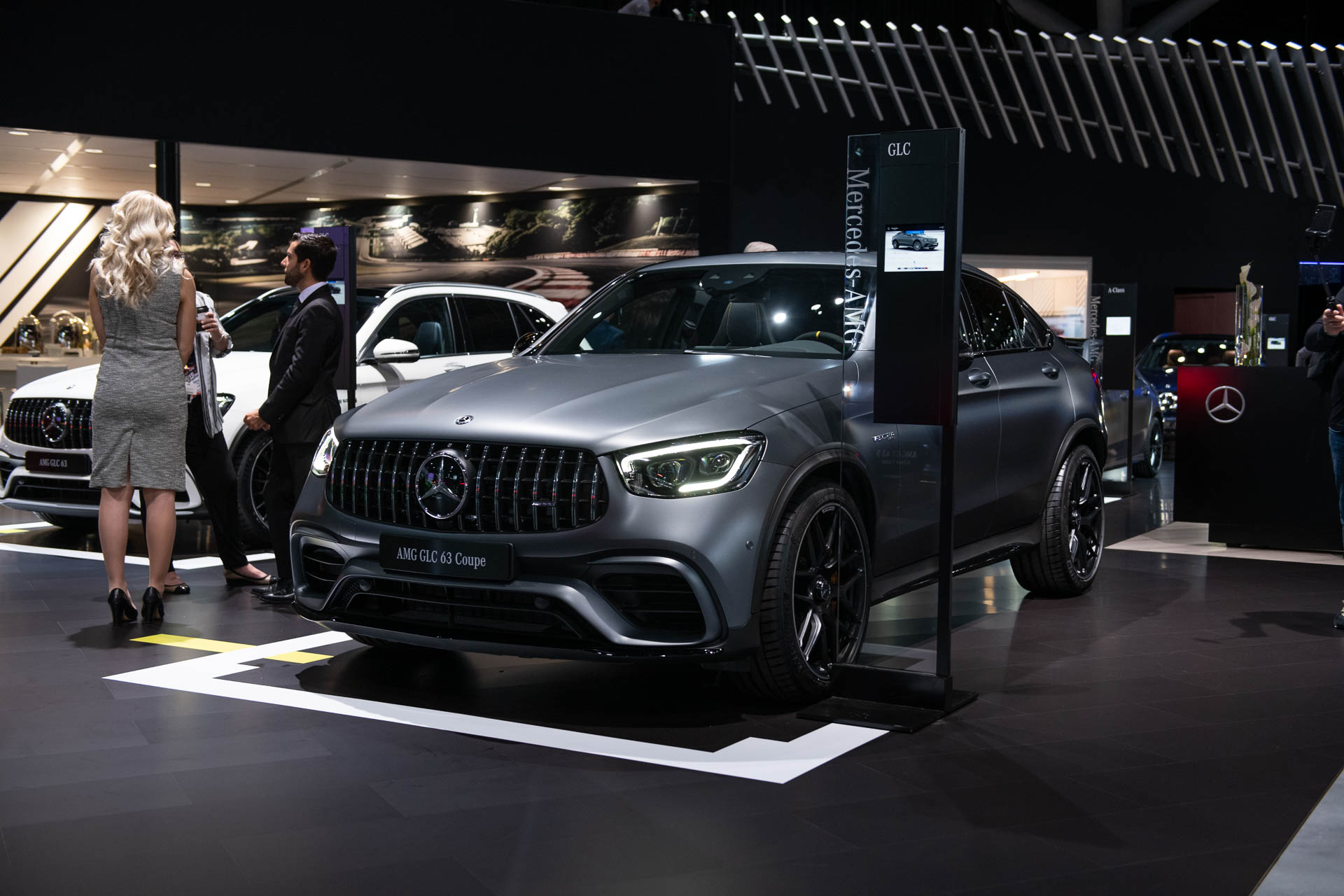 New 2020 Shows AMG reveals updated 2020 GLC63 ahead of New York auto show