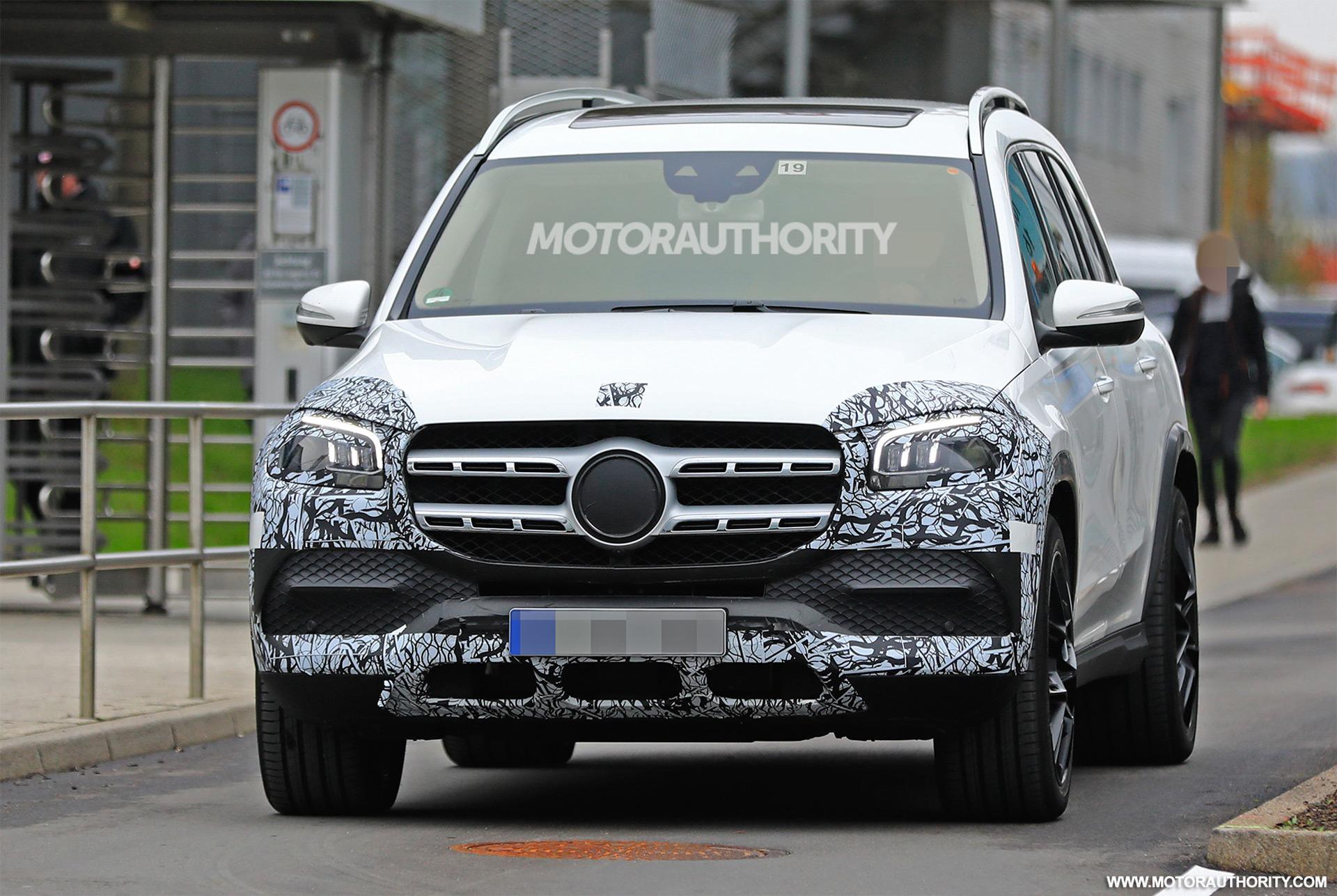 Mercedes Benz Gls >> 2020 Mercedes Benz Gls Spy Shots And Video