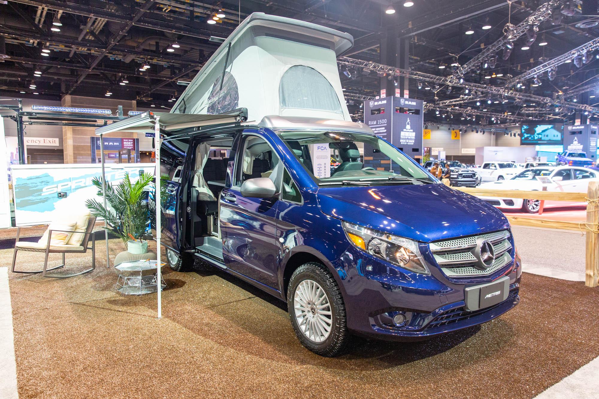 Mercedes-Benz Metris van now comes as a pop-up camper