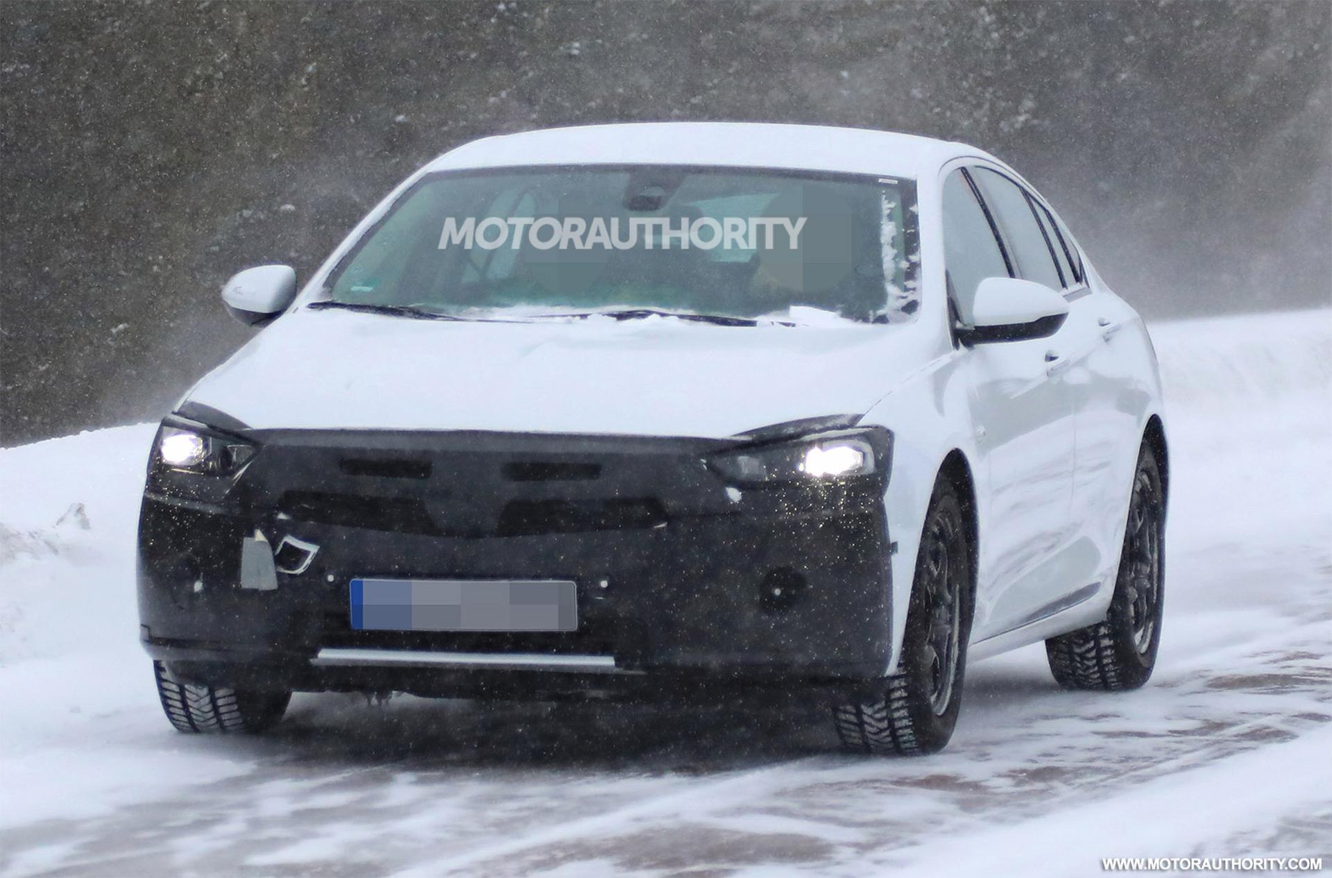 2020 Opel Insignia Spy Shots