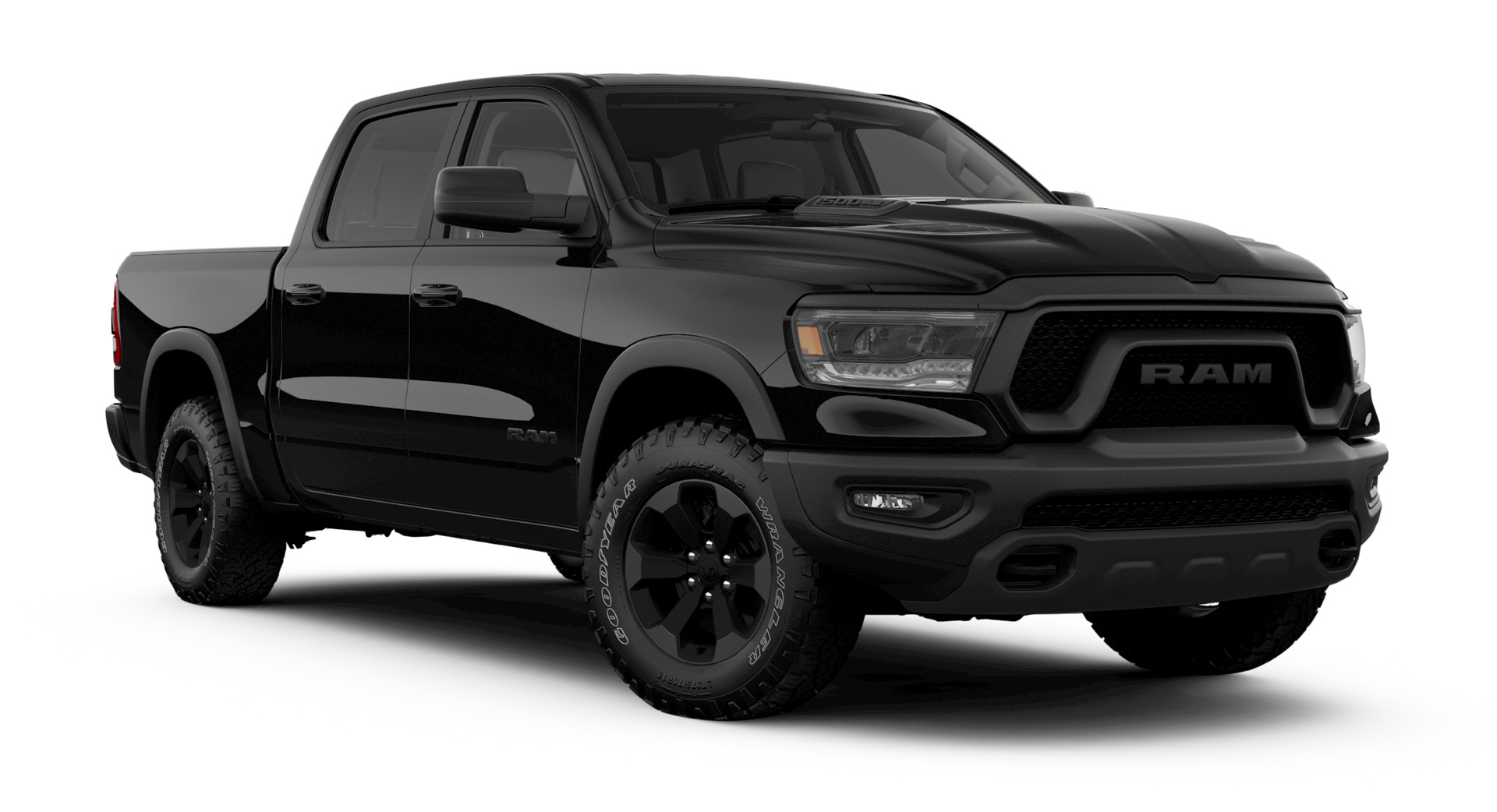 2020 Ram Rebel Goes Sinister With Black Appearance Pack