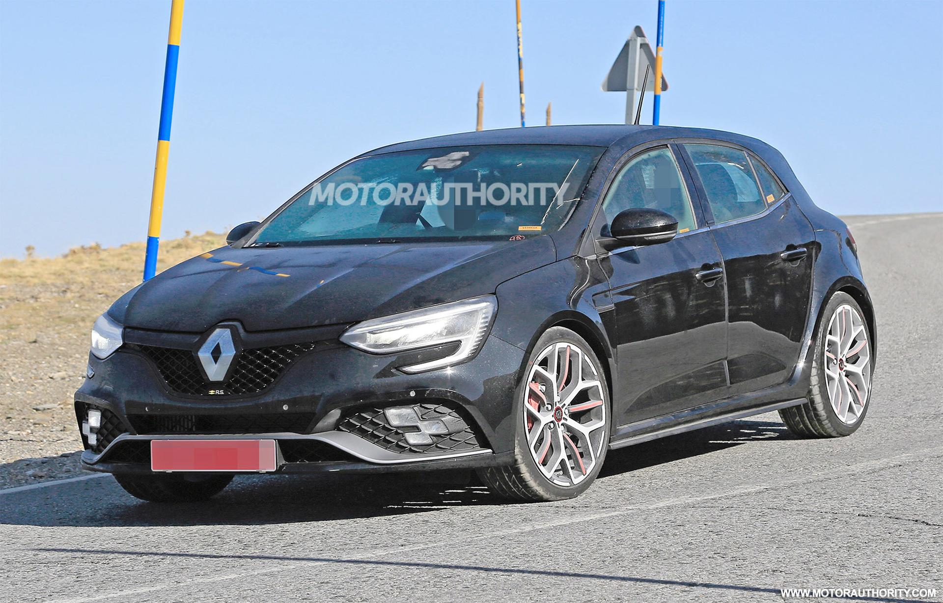 2020 Renault Megane Rs Spy Shots