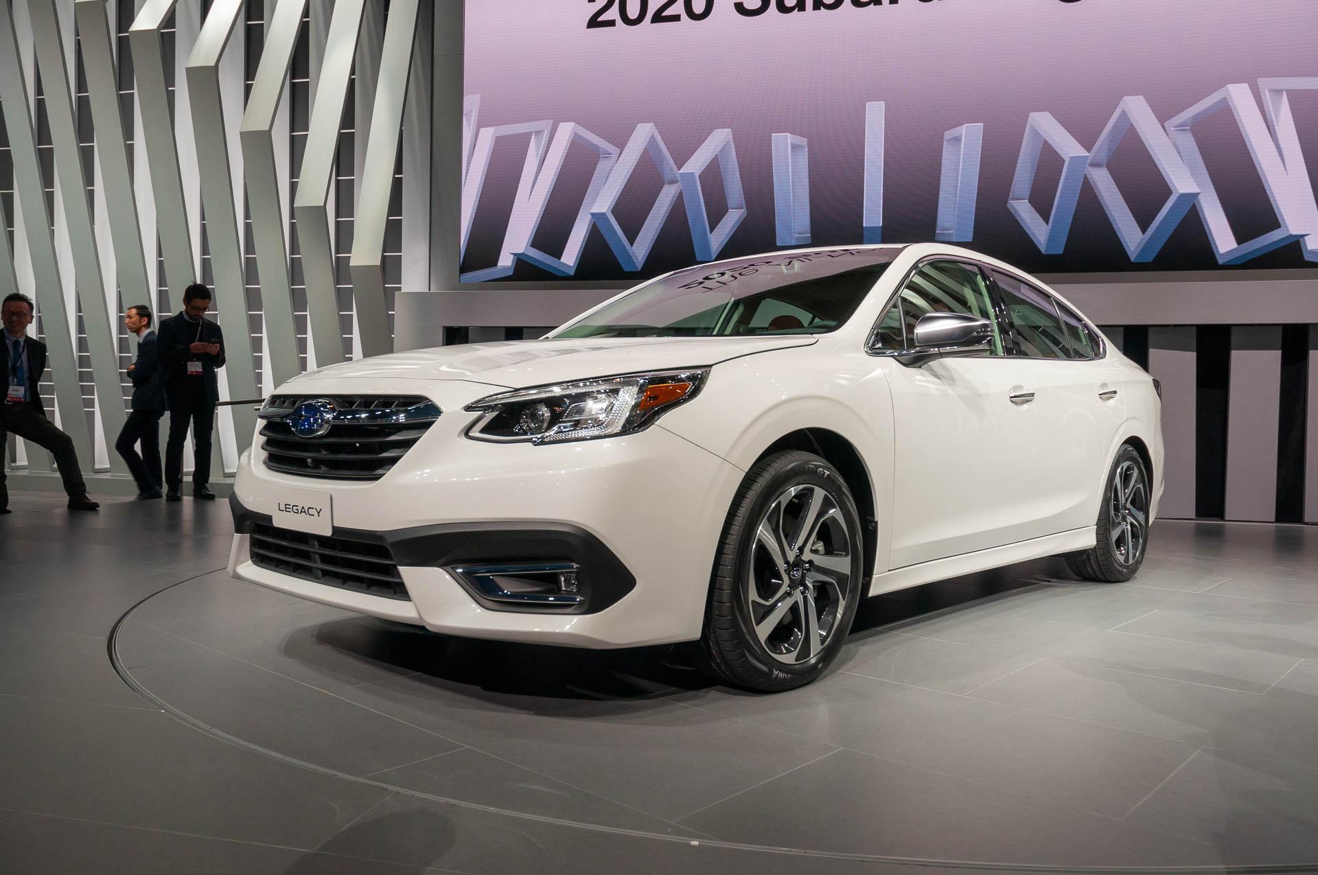 2020 Subaru Legacy preview