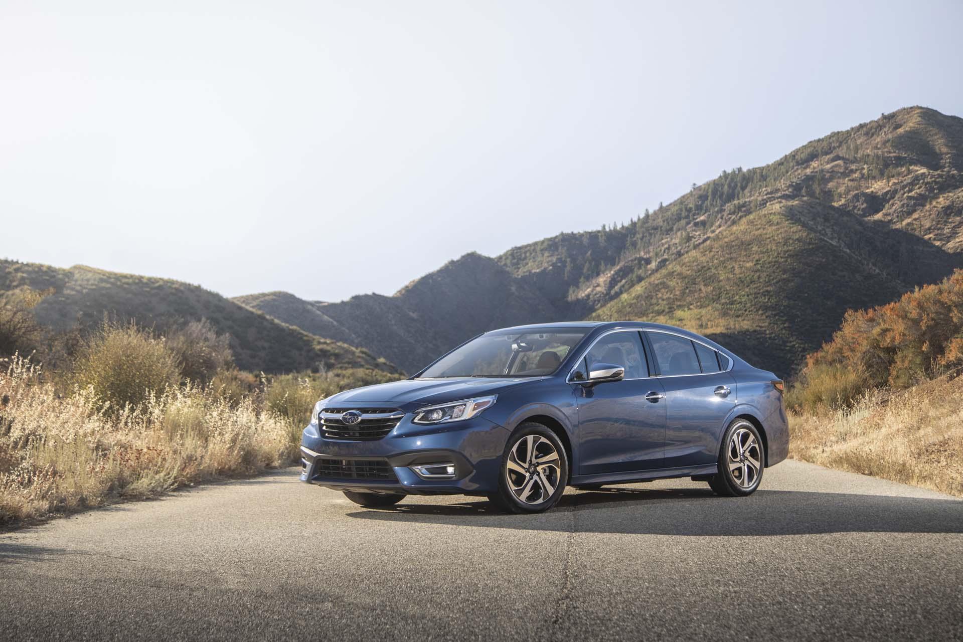The 2020 Subaru Legacy Sedan Runs Toward The Best Mid Size Value