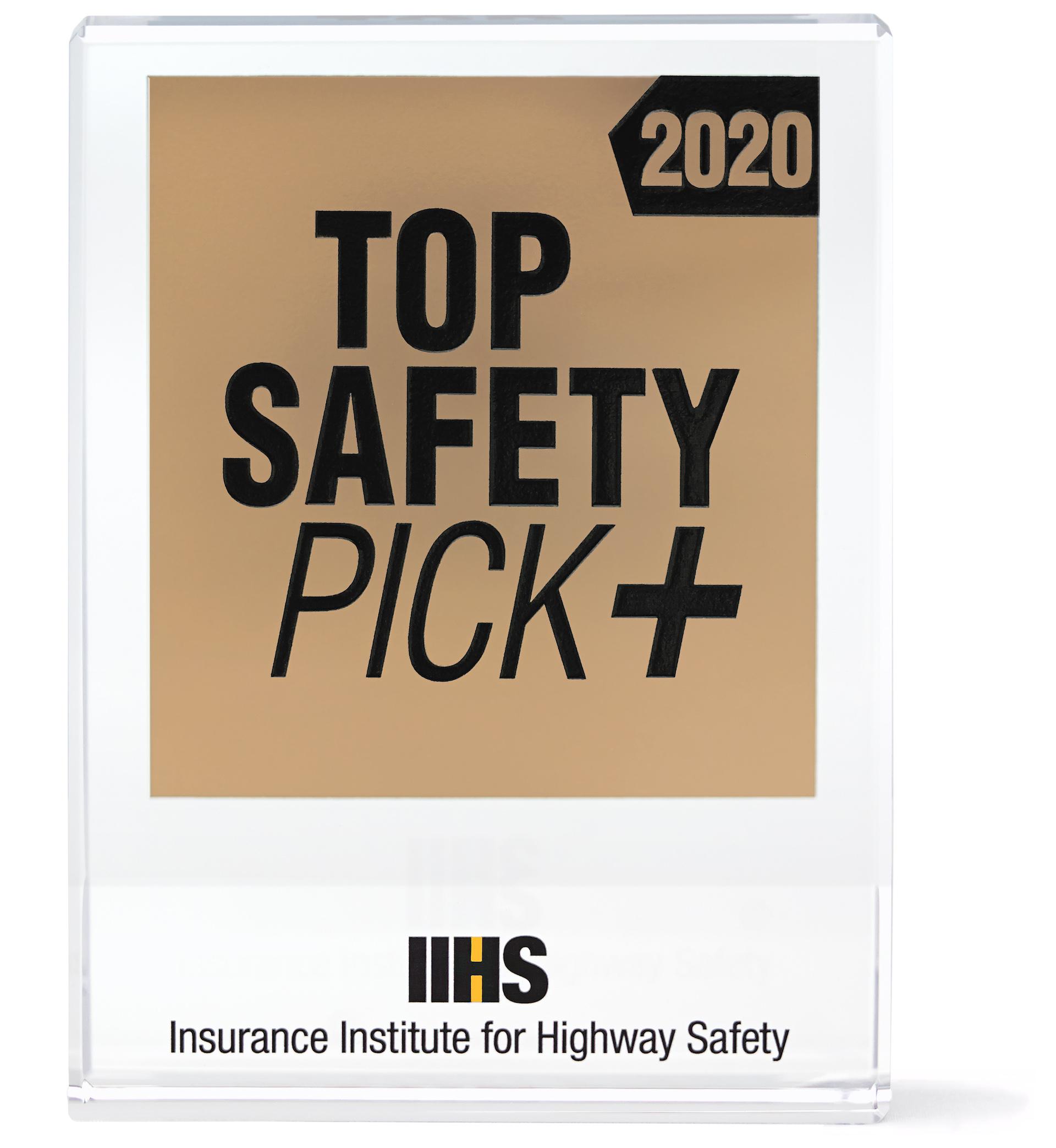 IIHS Awards Safest Cars For 2020