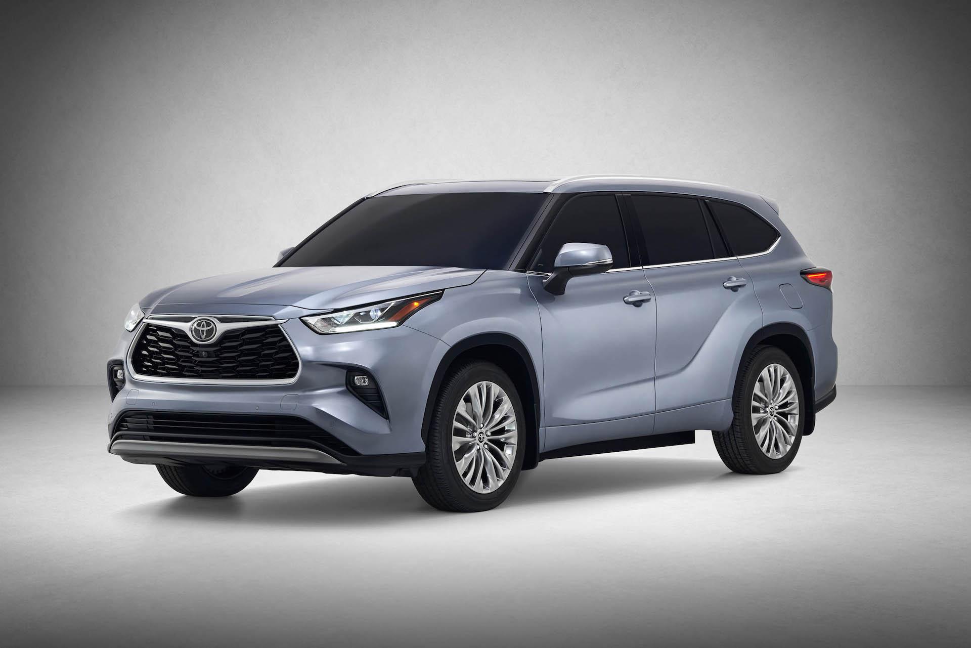 2020 Toyota Highlander preview