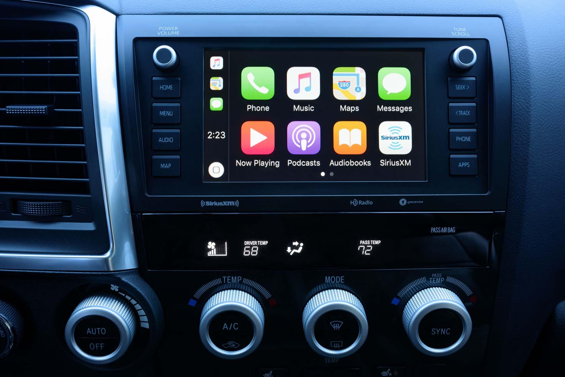 2020 Toyota Upgrades Pickup Trucks Suvs With Android Auto Apple