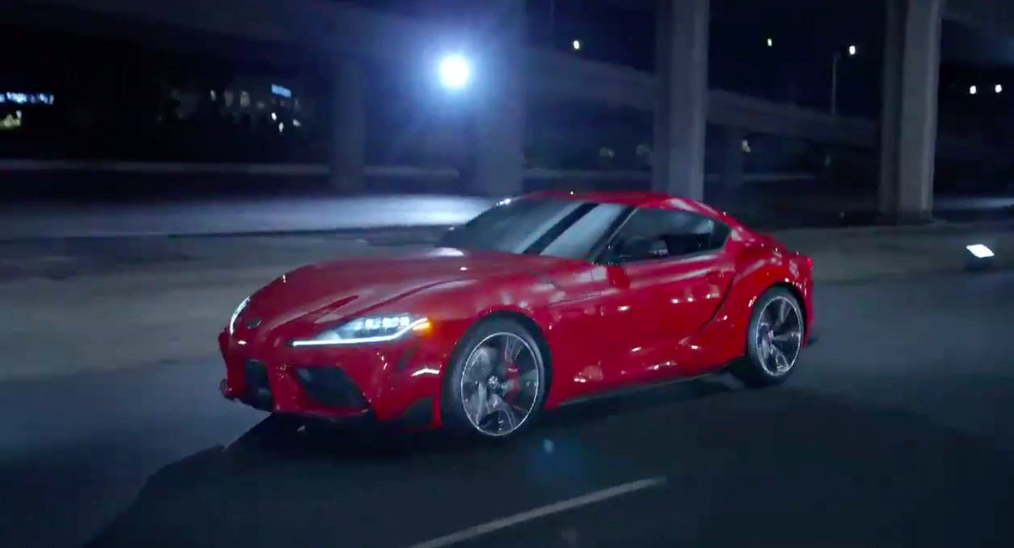2020 Toyota Supra Completely Revealed In Video Leak