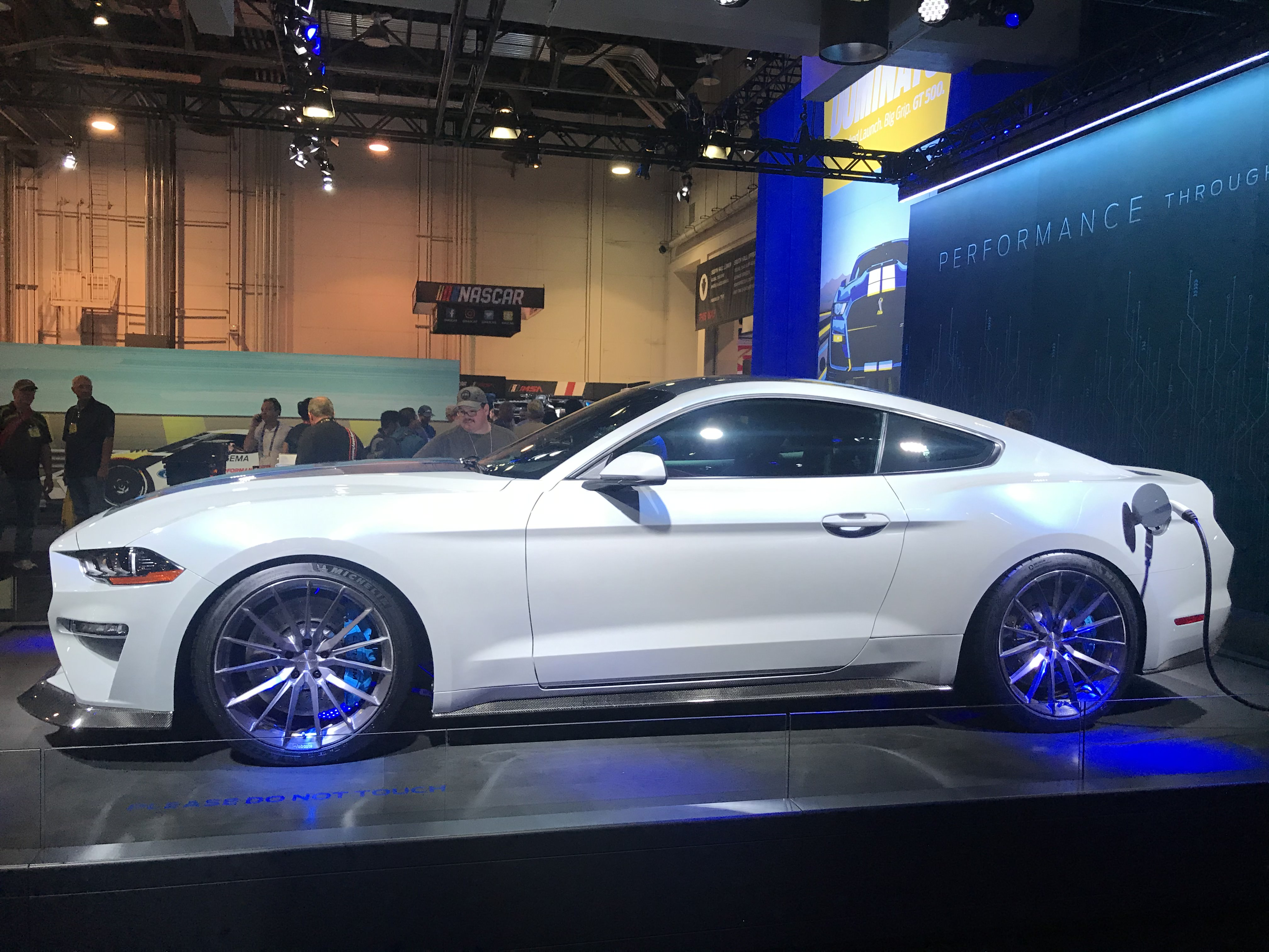Electric Ford Mustang Has 900 Horsepower And A Manual Transmission