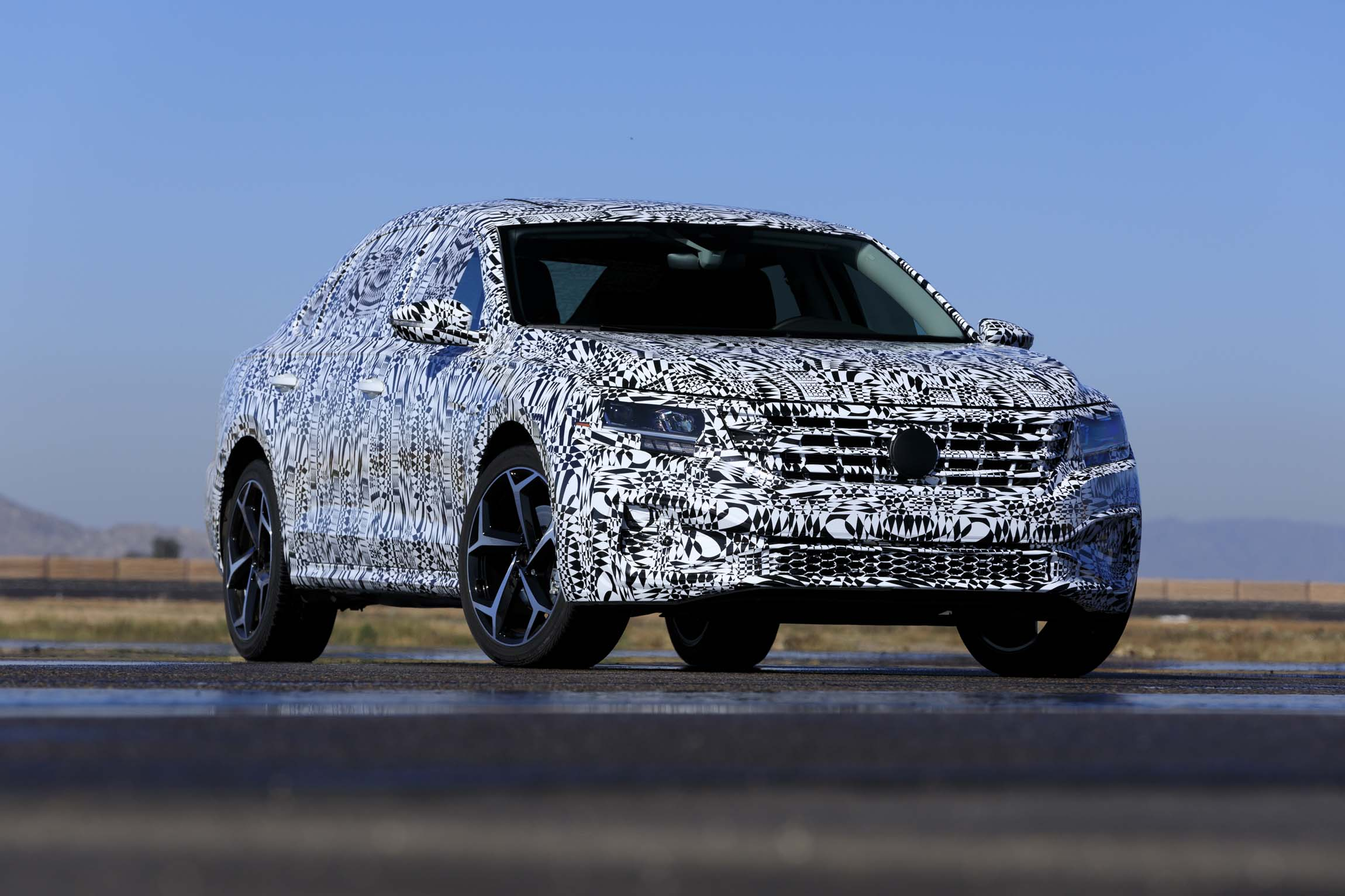 2020 Volkswagen Passat Prototype First Drive Review Playing It Safe