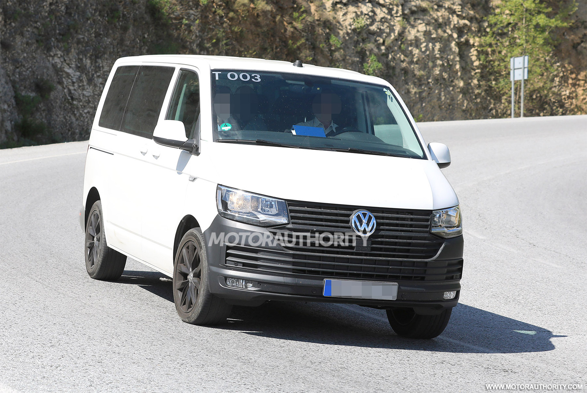 2020 volkswagen transporter t7 spy shots. Black Bedroom Furniture Sets. Home Design Ideas