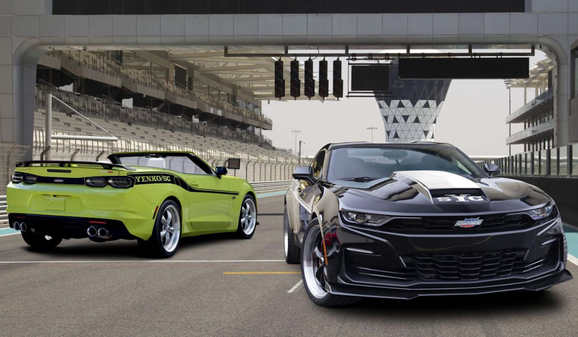 The 1,000-horsepower Yenko/SC Camaro is now available as a ...