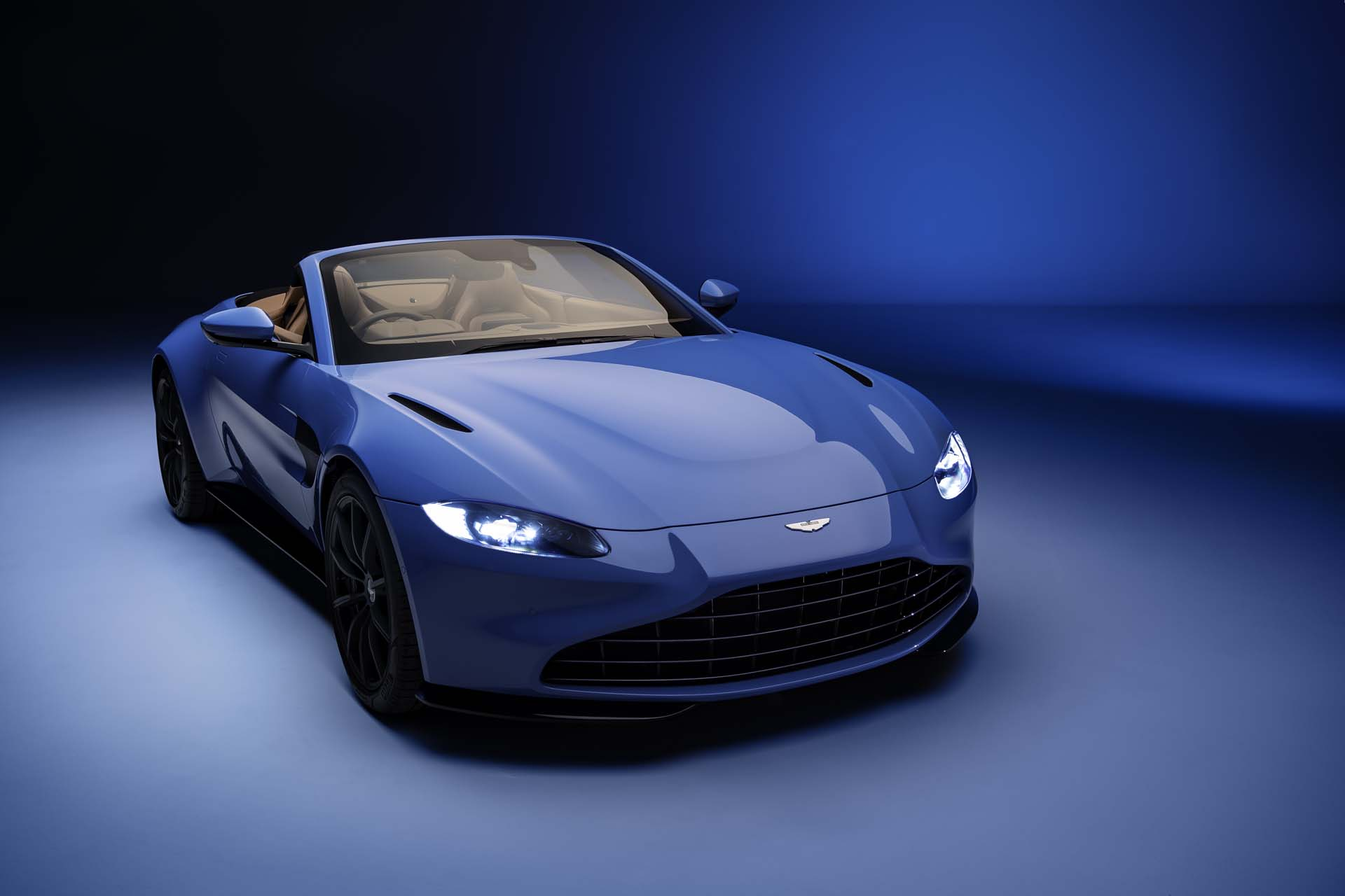 2021 Aston Martin Vantage Roadster Races In With Fastest Convertible Roof