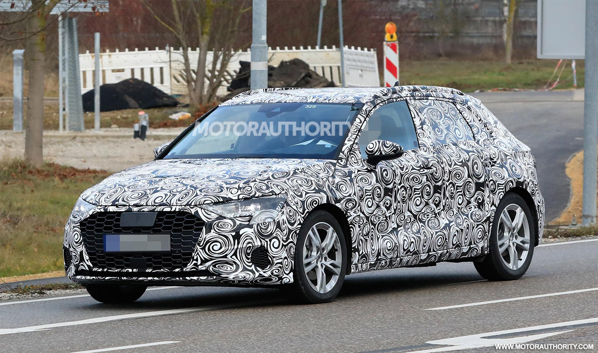 2021 Audi A3 Sportback spy shots