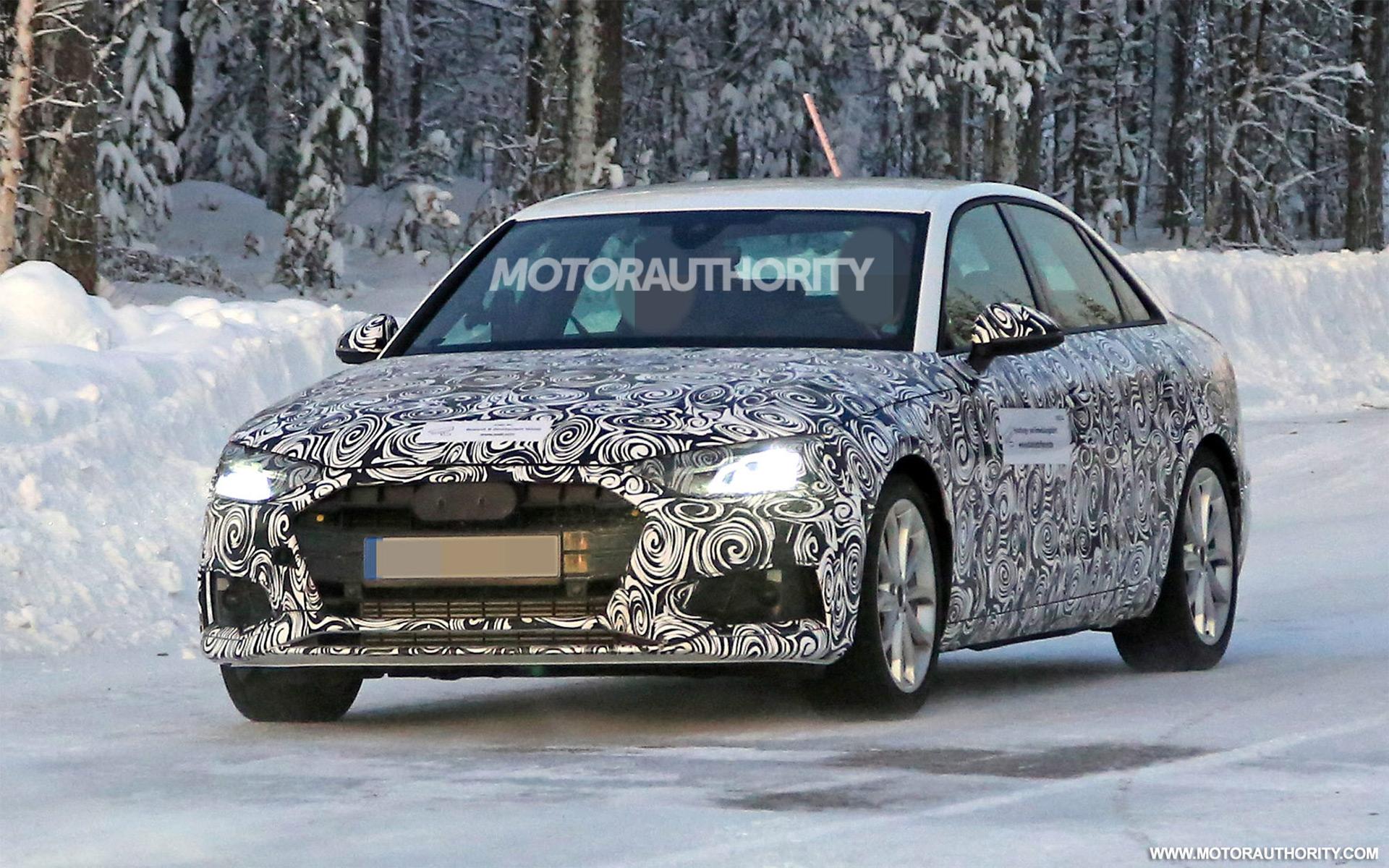 2021 Audi A4 spy shots