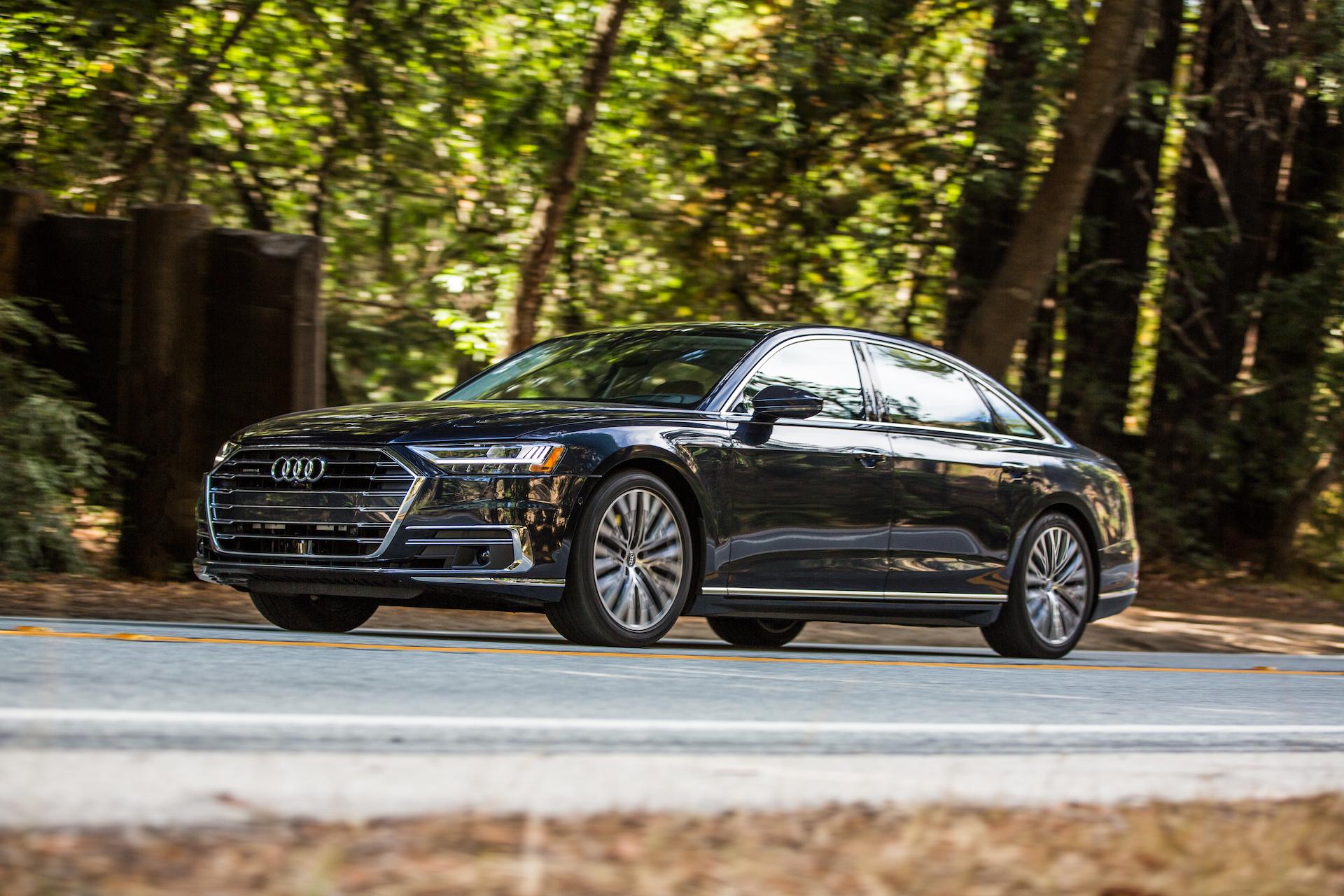 2021 Audi A8 Speed Test