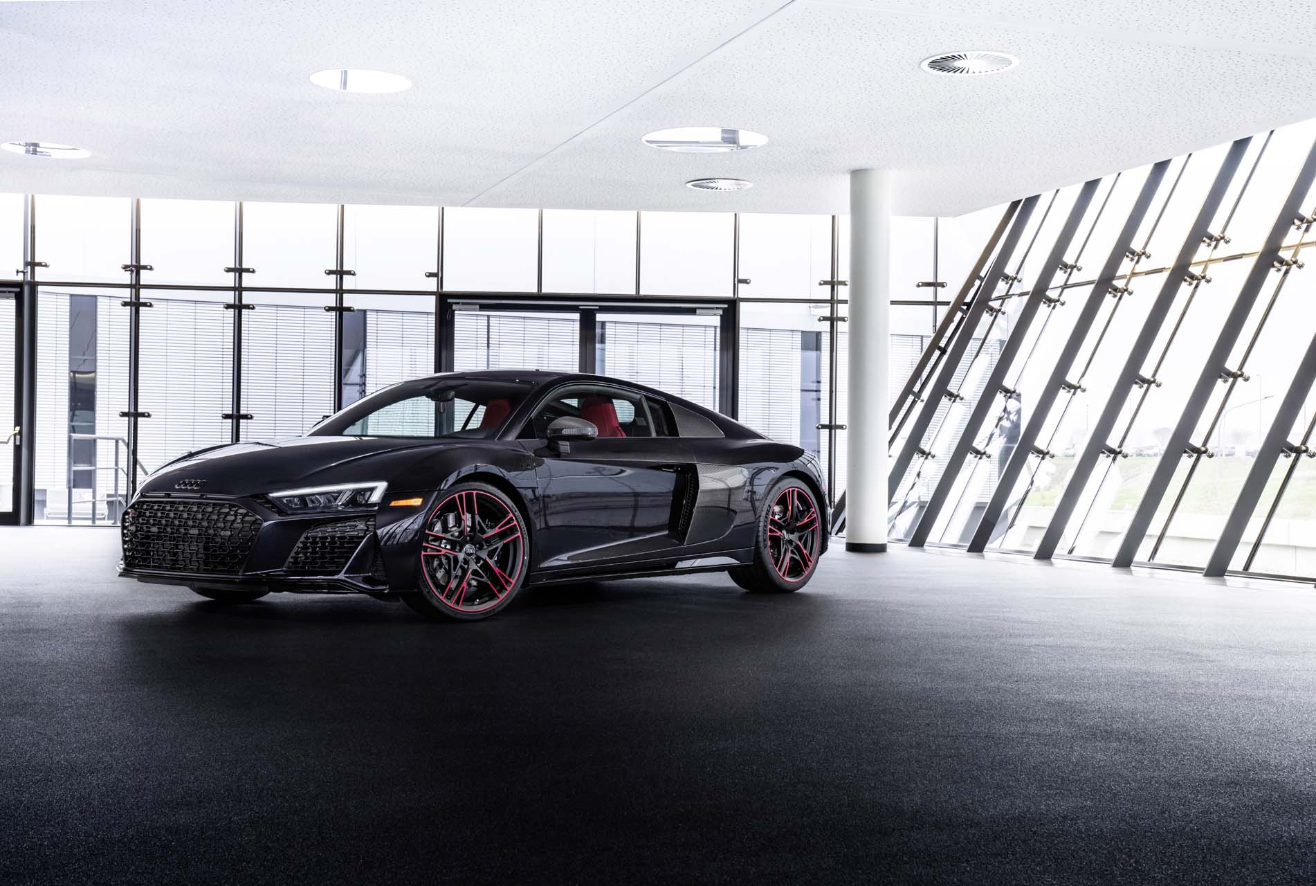 Audi Marks 2021 R8 V10 Rwd S Arrival With Panther Limited Edition