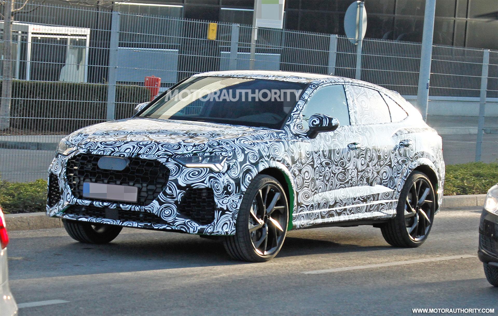2021 Audi RS Q4 spy shots