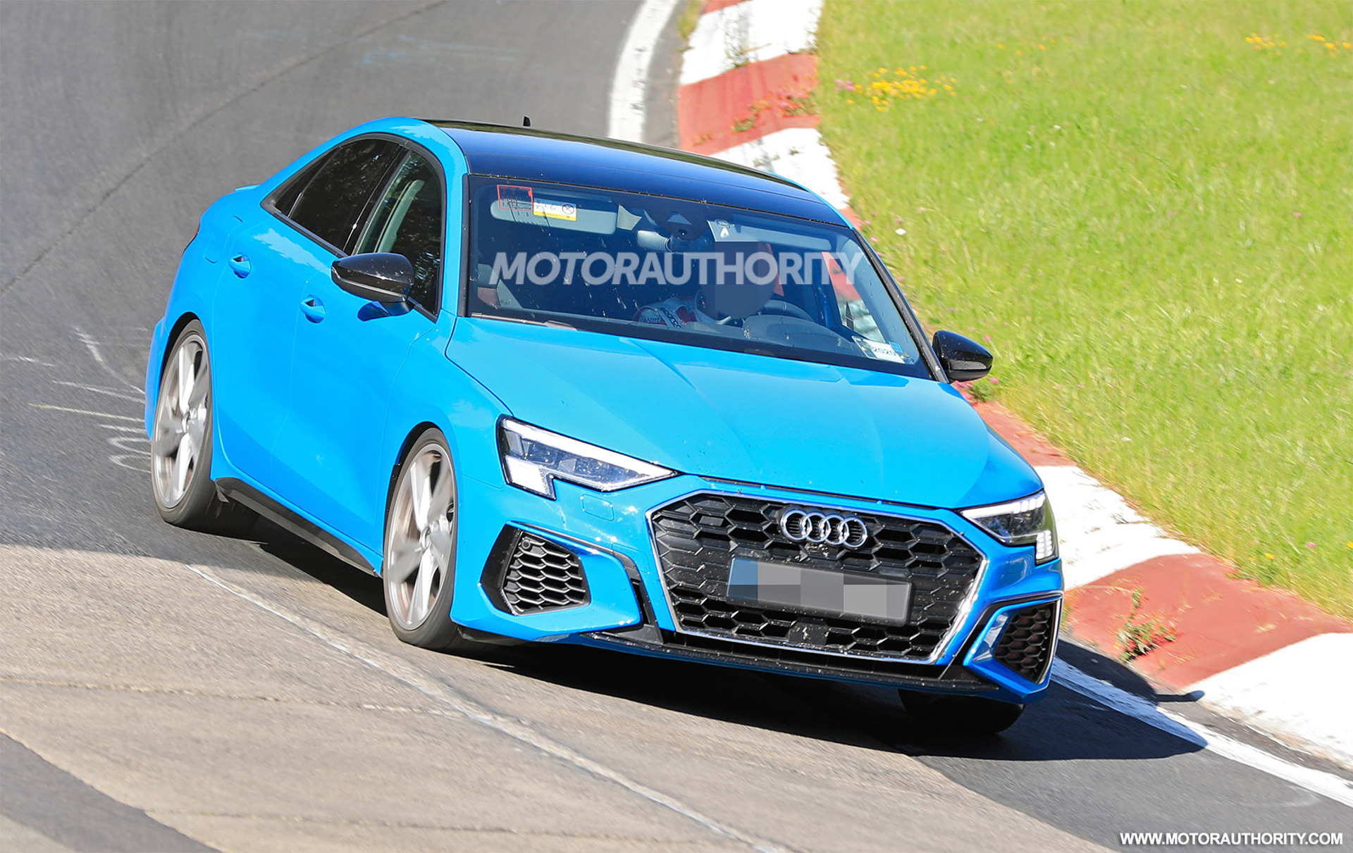 2022 Audi S3 spy shots and video