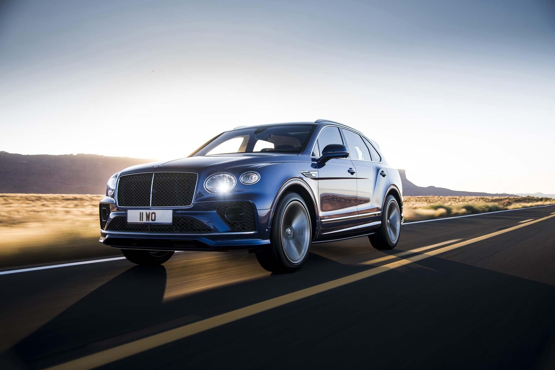 2021 Bentley Bentayga Speed Brings New Looks And Added Refinement
